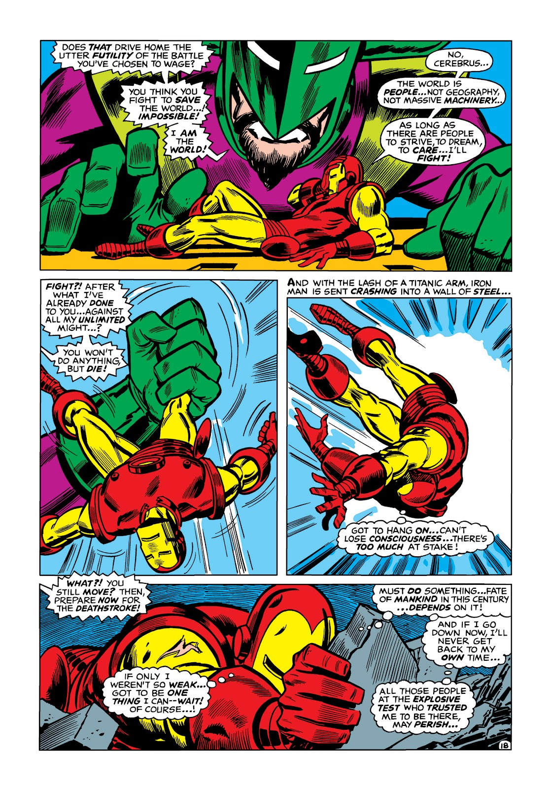 Read online Marvel Masterworks: The Invincible Iron Man comic -  Issue # TPB 5 (Part 1) - 88