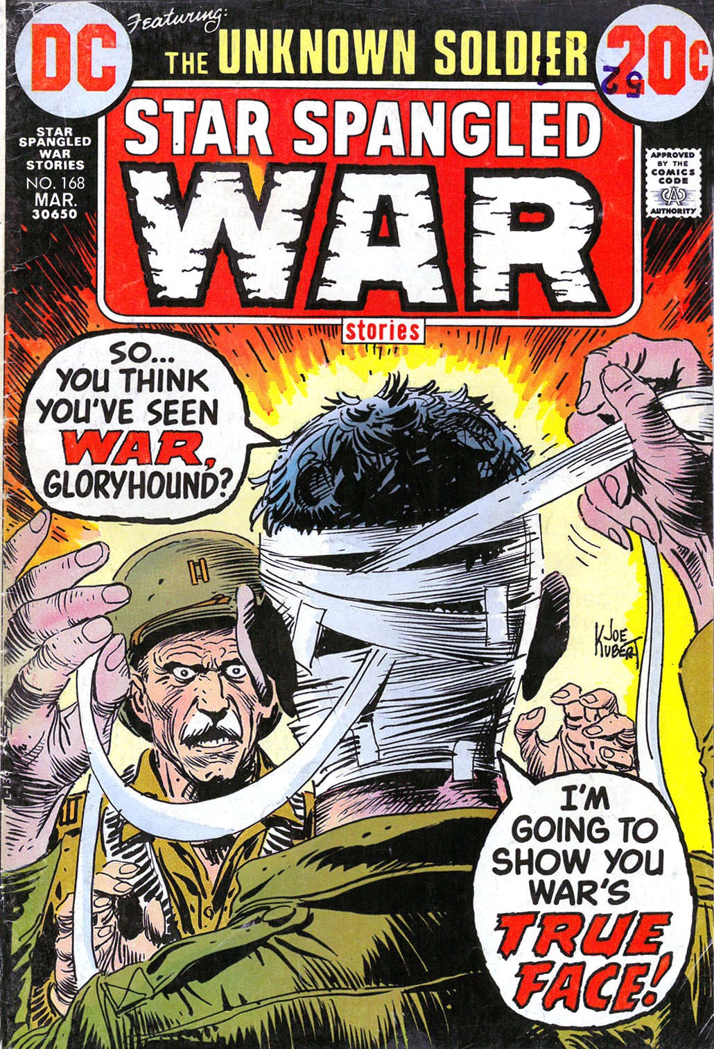 Read online Star Spangled War Stories (1952) comic -  Issue #168 - 1