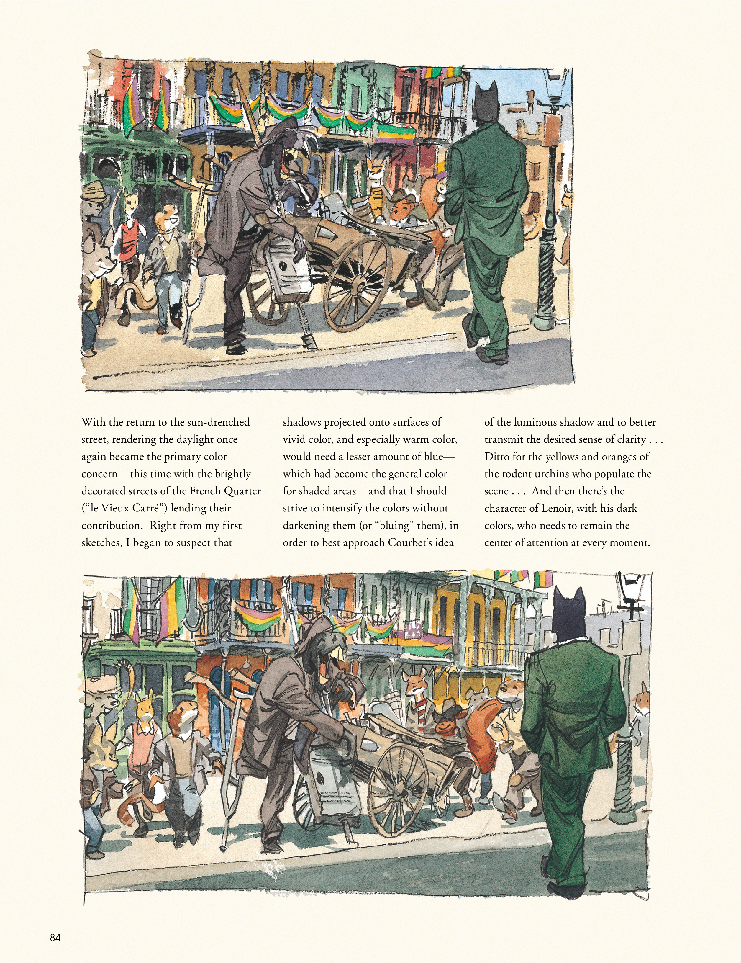 Read online Blacksad: A Silent Hell comic -  Issue # TPB - 84
