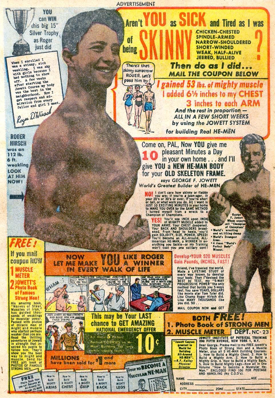 Read online Adventure Comics (1938) comic -  Issue #174 - 42