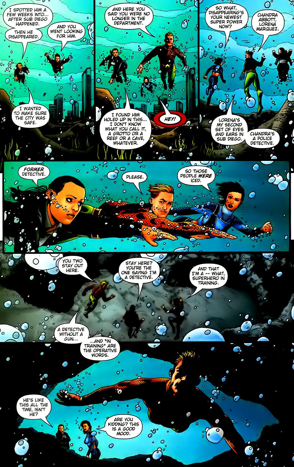 Read online Aquaman (2003) comic -  Issue #30 - 15