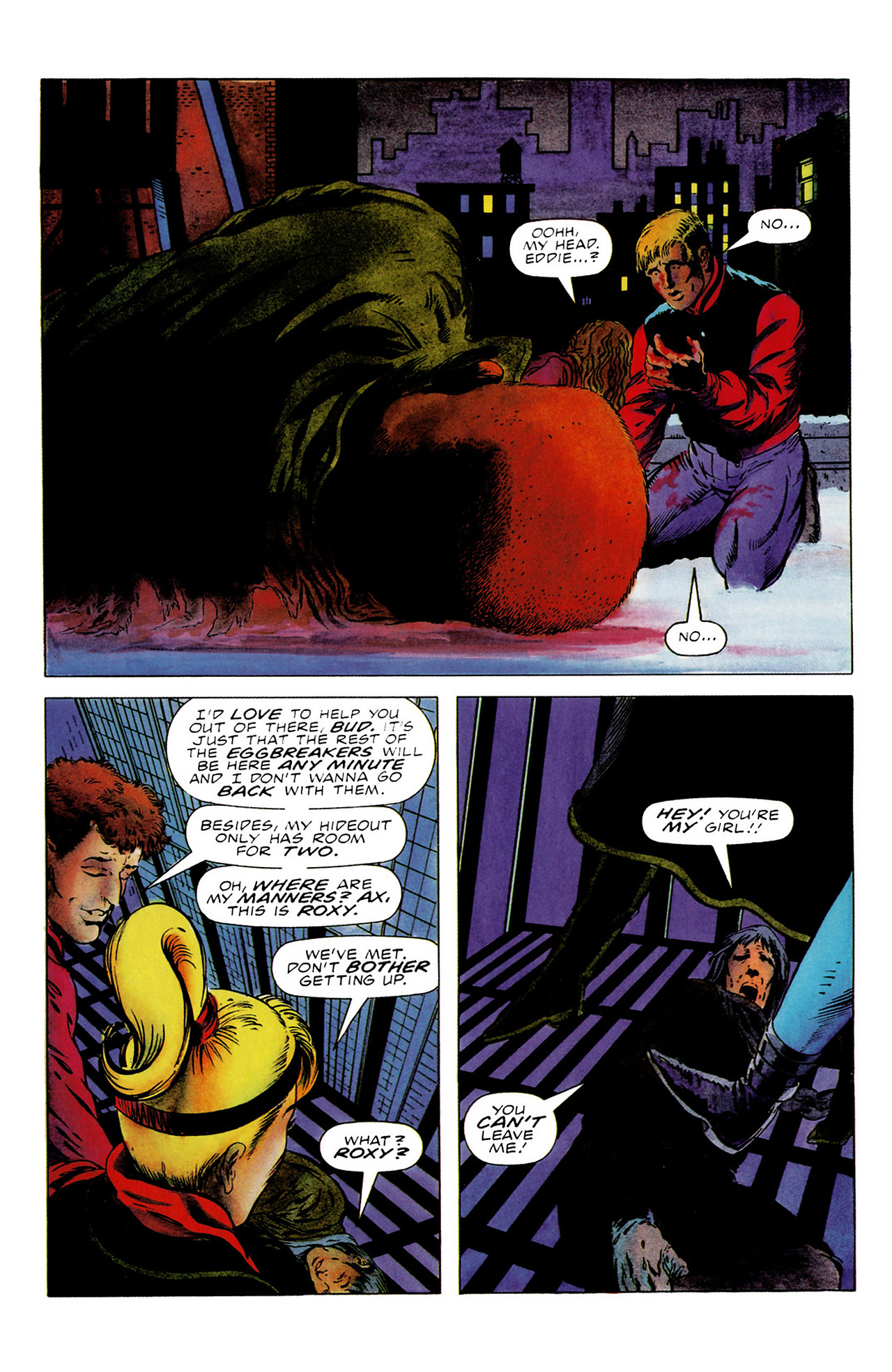 Read online Harbinger (1992) comic -  Issue #16 - 20