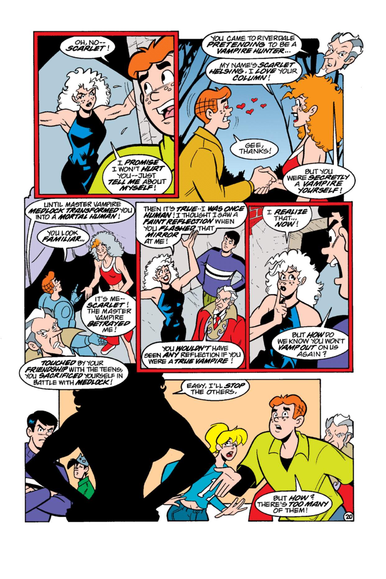 Read online Archie's Weird Mysteries comic -  Issue #12 - 22