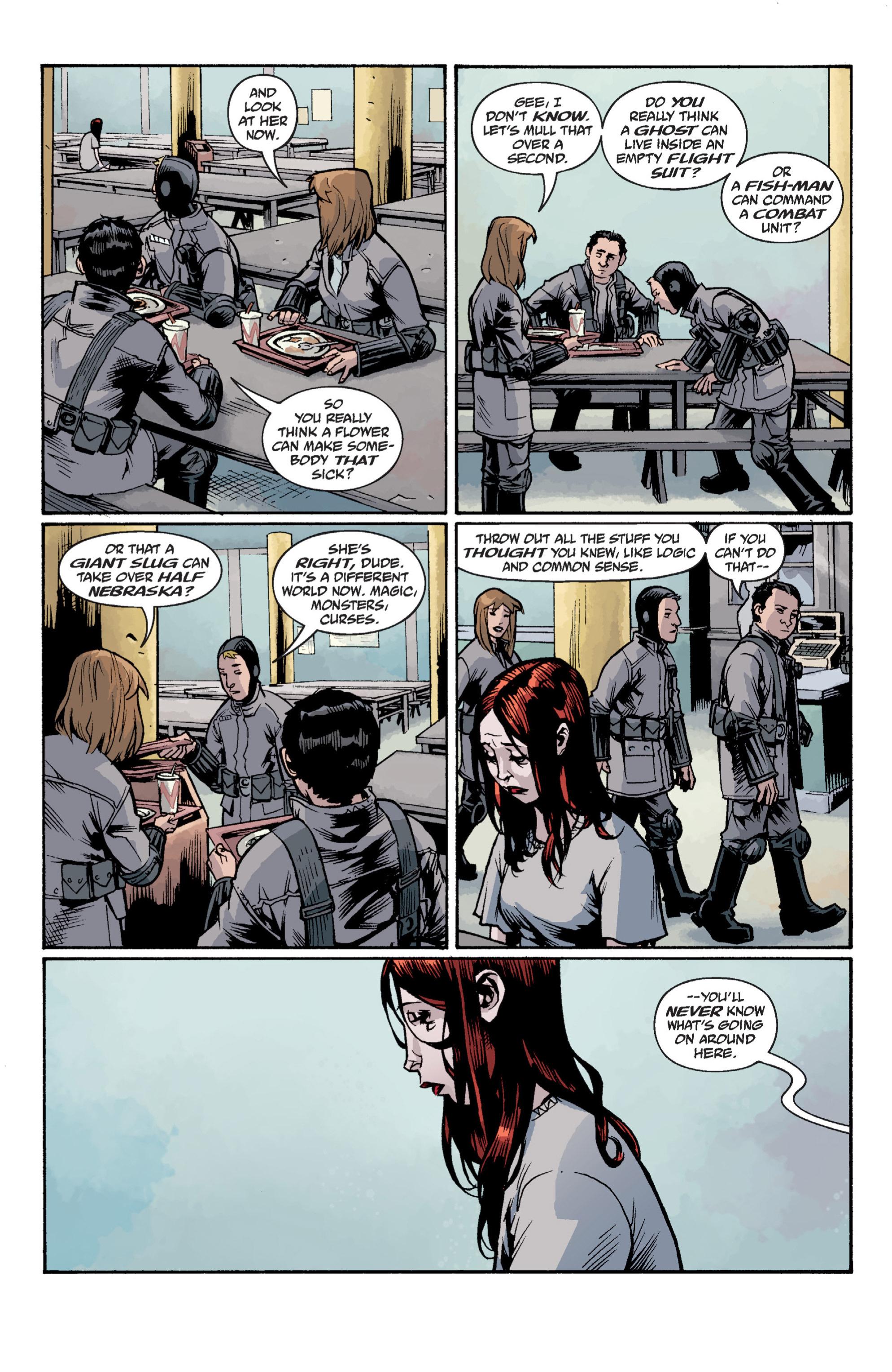 Read online B.P.R.D. (2003) comic -  Issue # TPB 12 - 127
