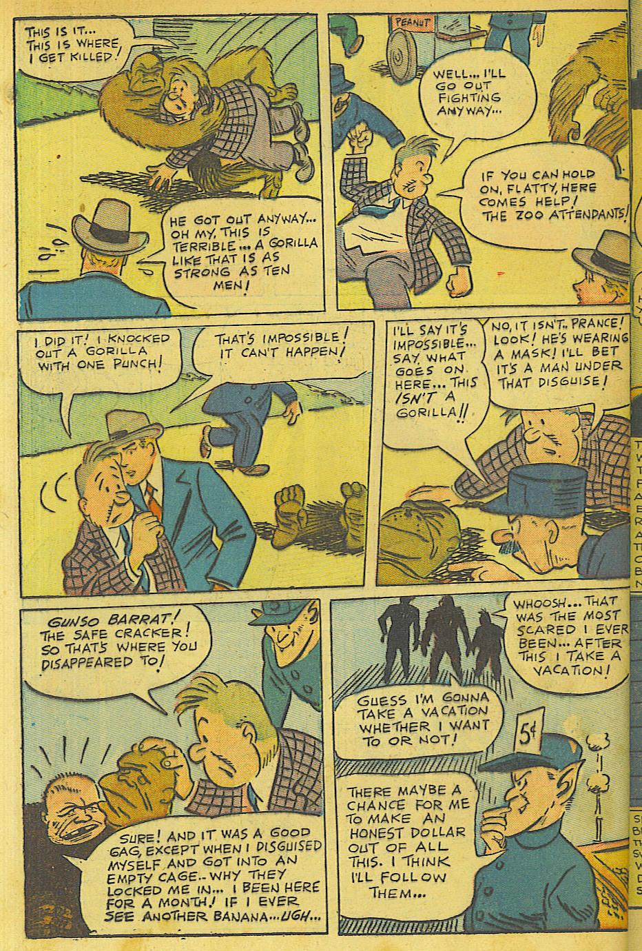 Read online Shadow Comics comic -  Issue #63 - 40