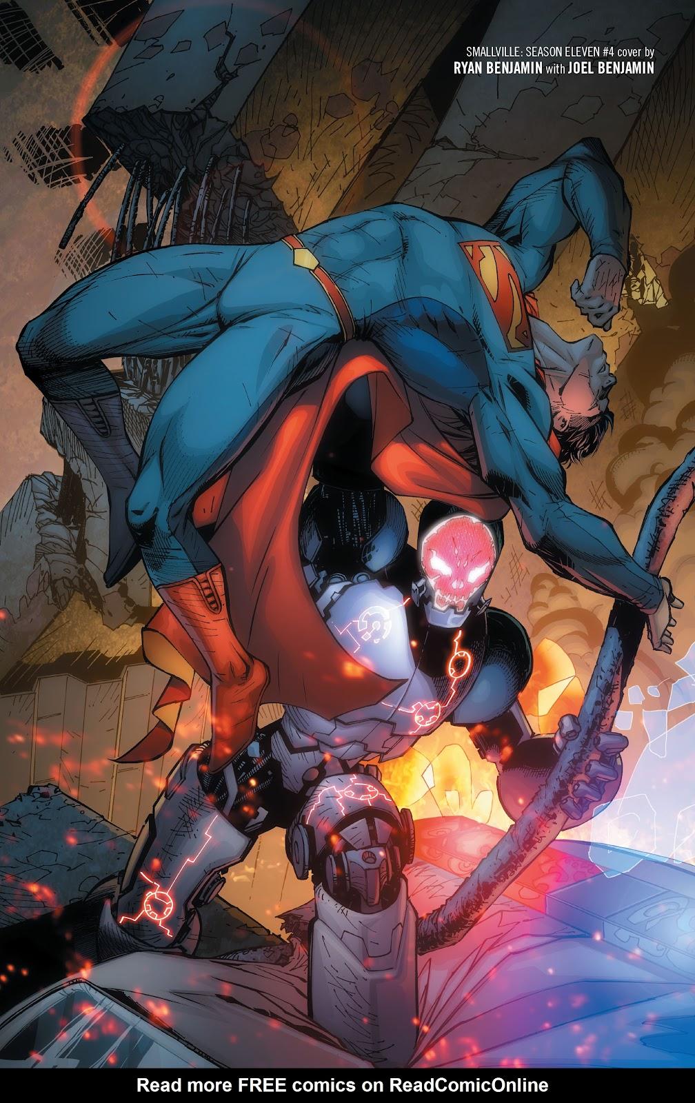 Read online Smallville Season 11 [II] comic -  Issue # TPB 1 - 101