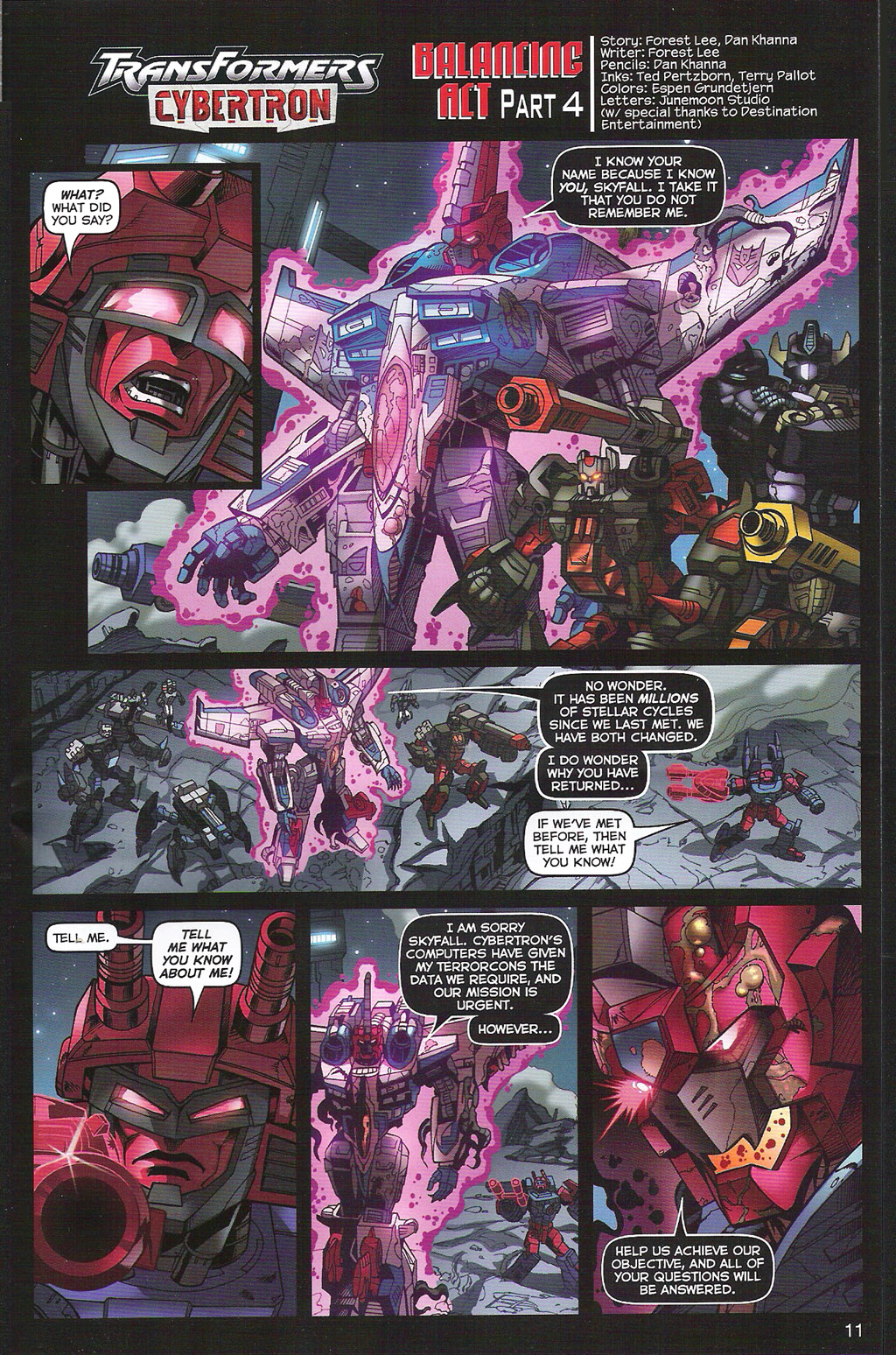 Read online Transformers: Collectors' Club comic -  Issue #5 - 11