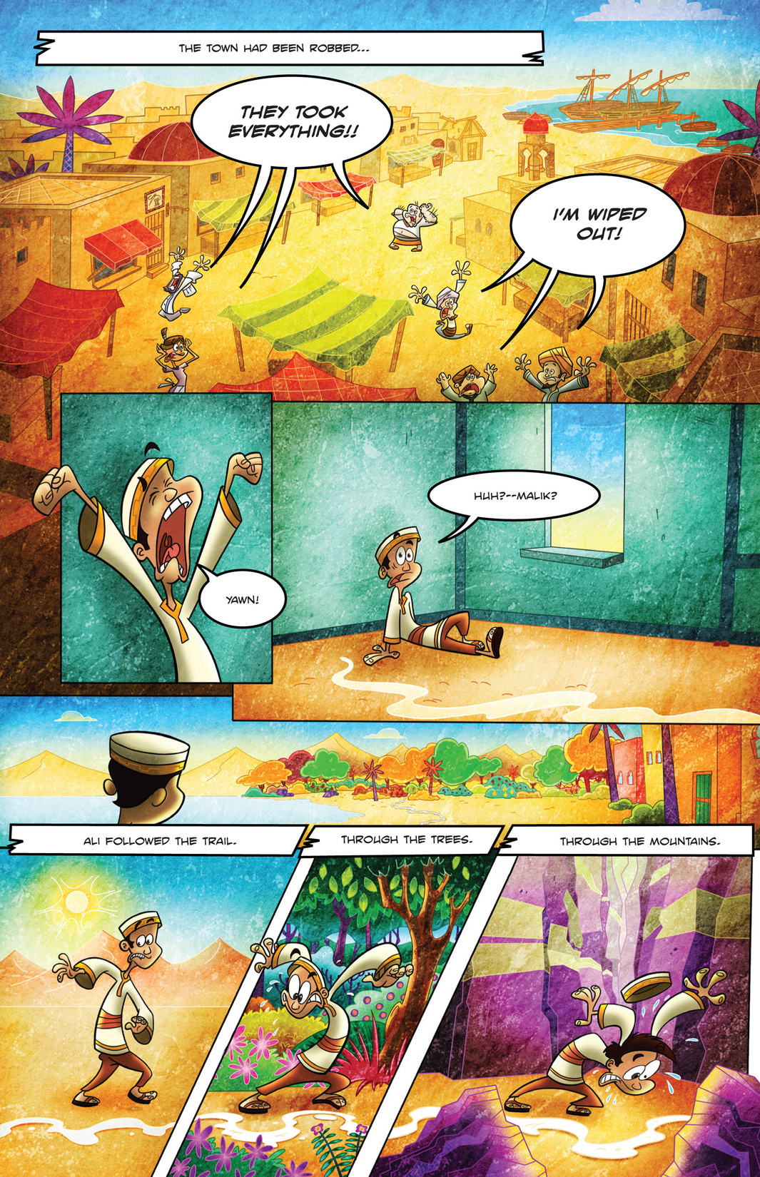 Read online 1001 Nights comic -  Issue #4 - 8