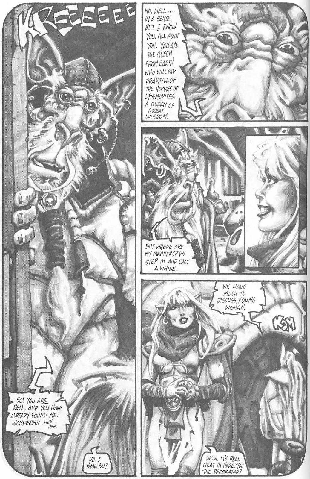 Read online Animal Mystic comic -  Issue #4 - 7