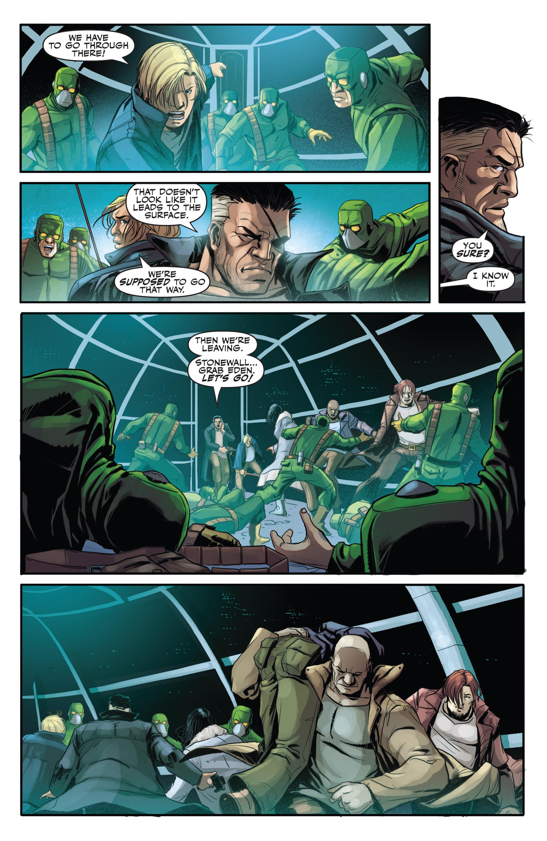 Read online Secret Warriors comic -  Issue #21 - 11