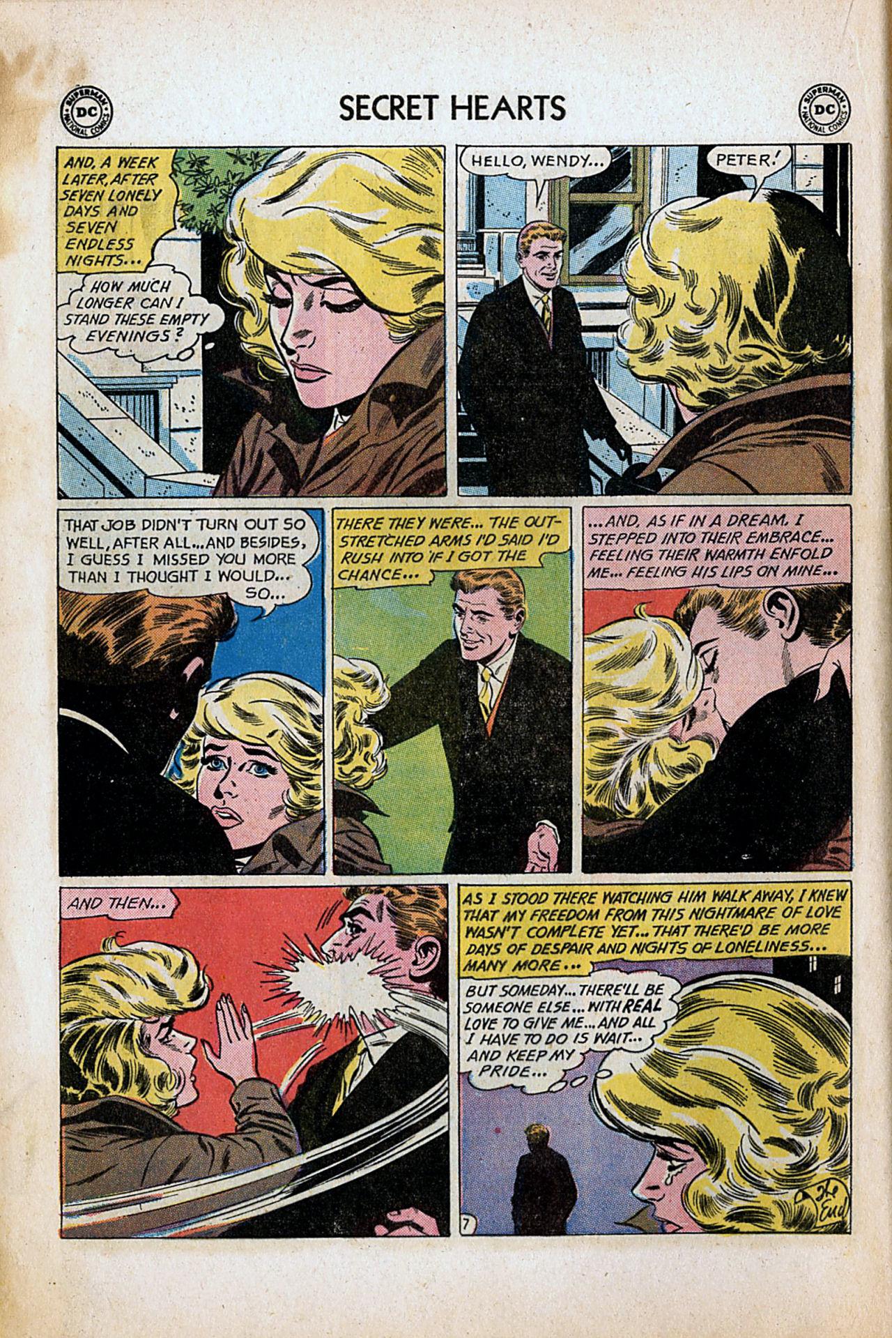 Read online Secret Hearts comic -  Issue #80 - 16