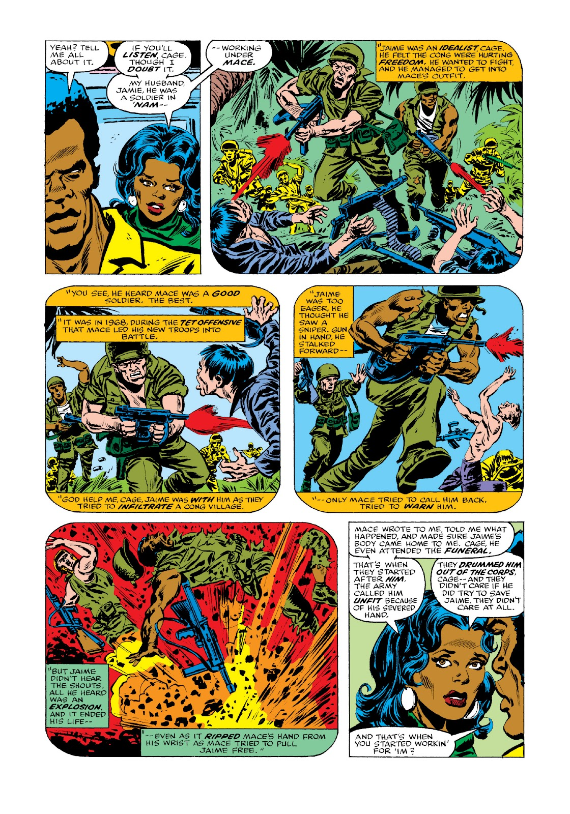 Read online Marvel Masterworks: Luke Cage, Power Man comic -  Issue # TPB 3 (Part 3) - 56