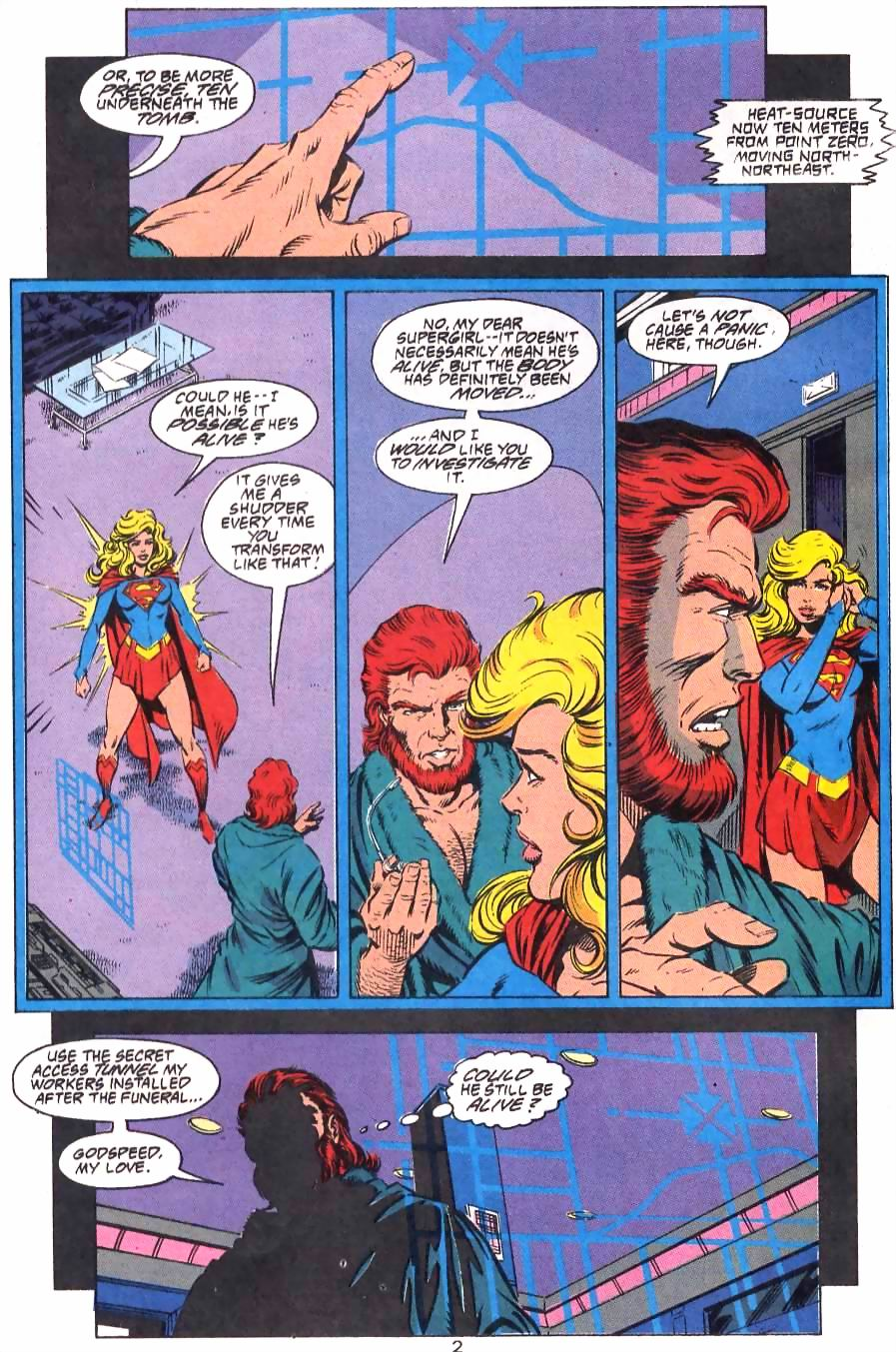 Read online Adventures of Superman (1987) comic -  Issue #499 - 3