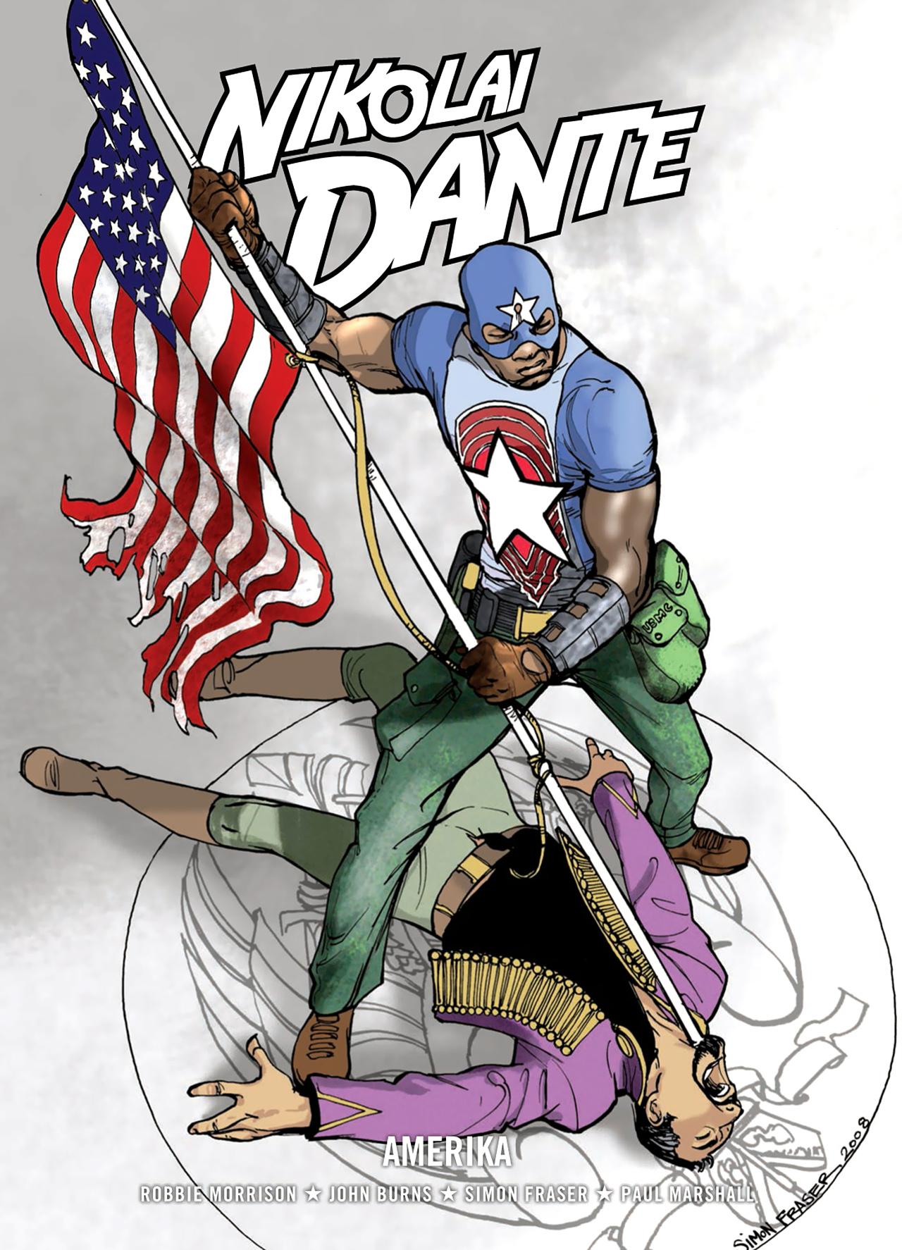 Read online Nikolai Dante comic -  Issue # TPB 9 - 1