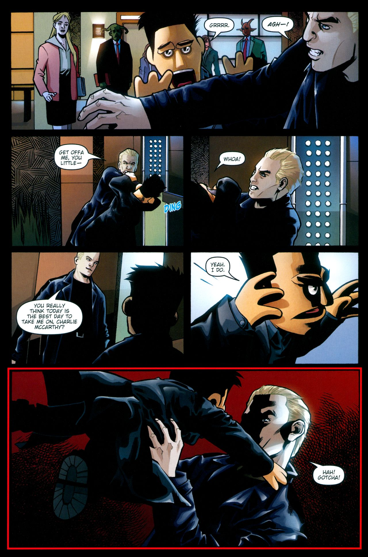 Read online Angel: Smile Time comic -  Issue #2 - 13