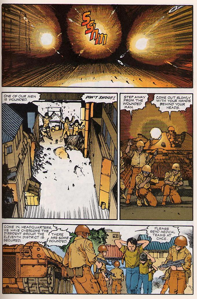 Read online Akira comic -  Issue #15 - 44