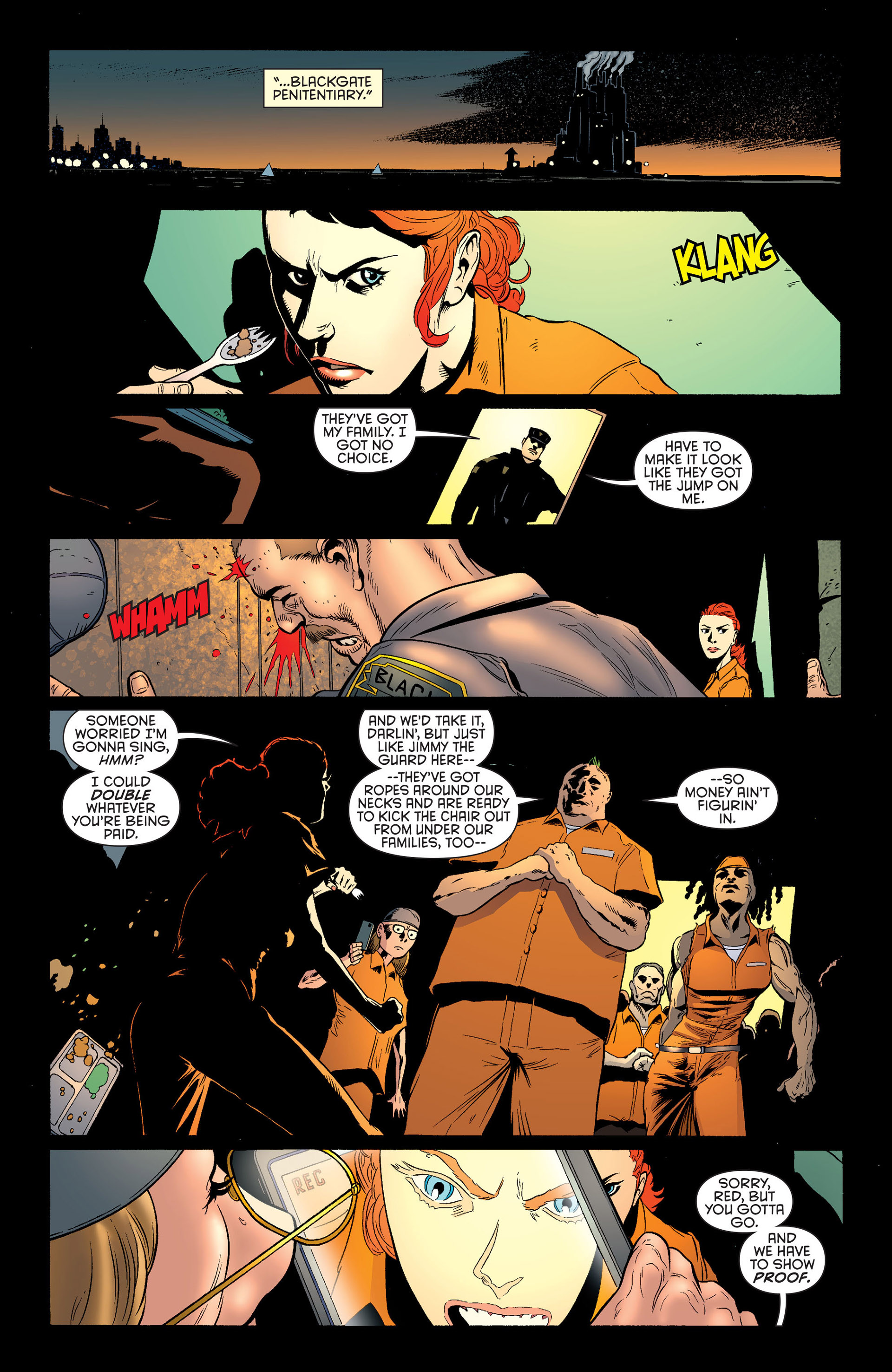 Read online Batman and Robin (2011) comic -  Issue #25 - Batman and Two-Face - 15