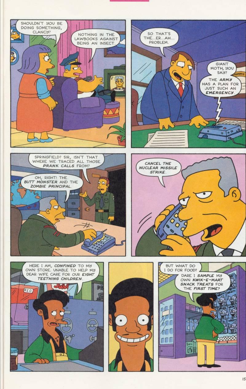 Read online Simpsons Comics comic -  Issue #61 - 16