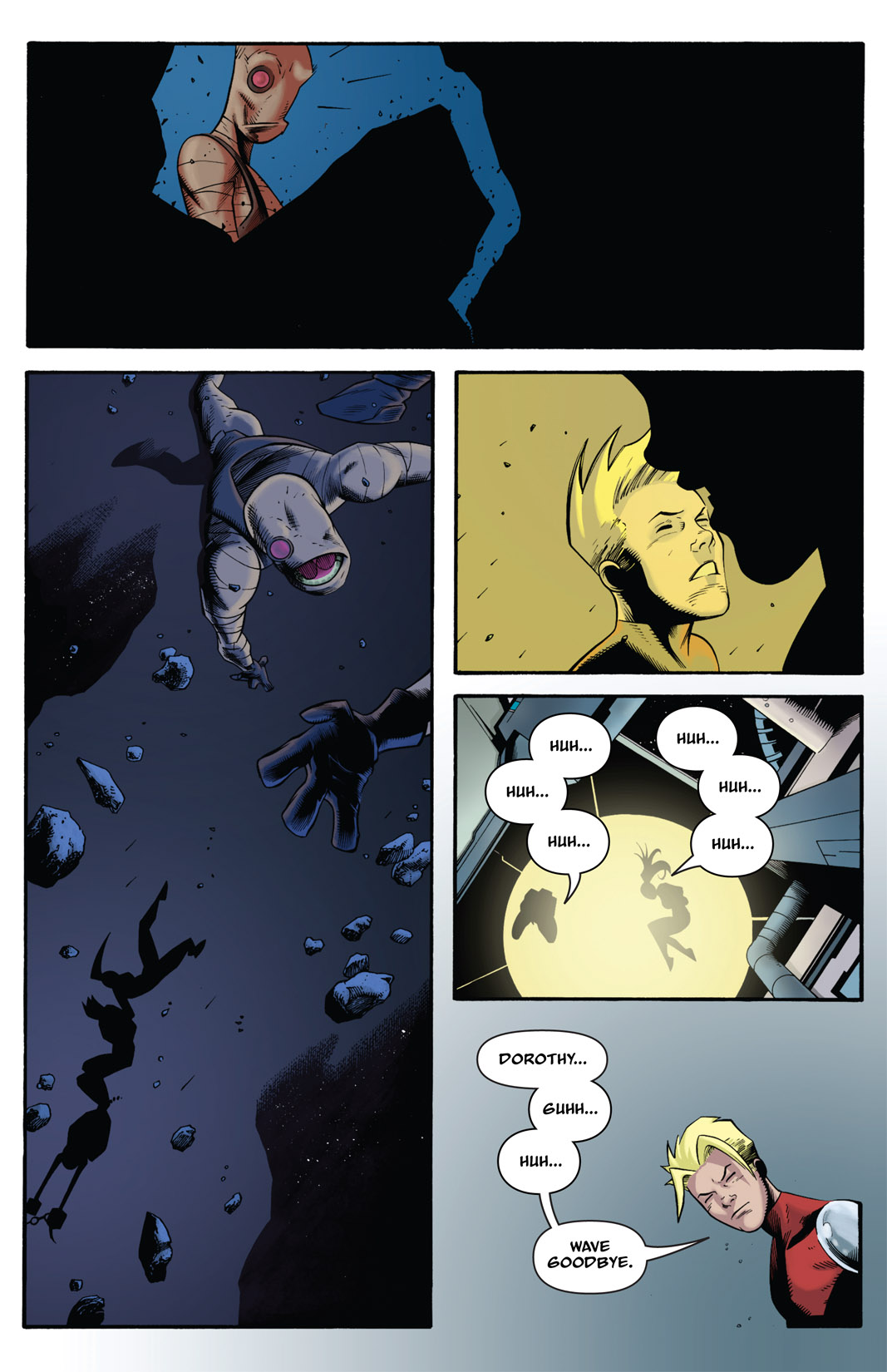 Read online The Many Adventures of Miranda Mercury: Time Runs Out comic -  Issue # TPB - 135