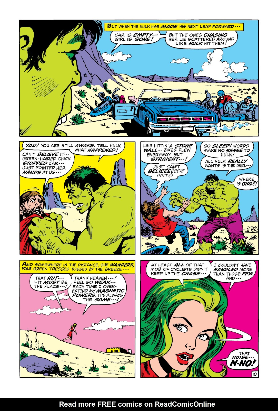 Read online Marvel Masterworks: The Incredible Hulk comic -  Issue # TPB 8 (Part 2) - 40