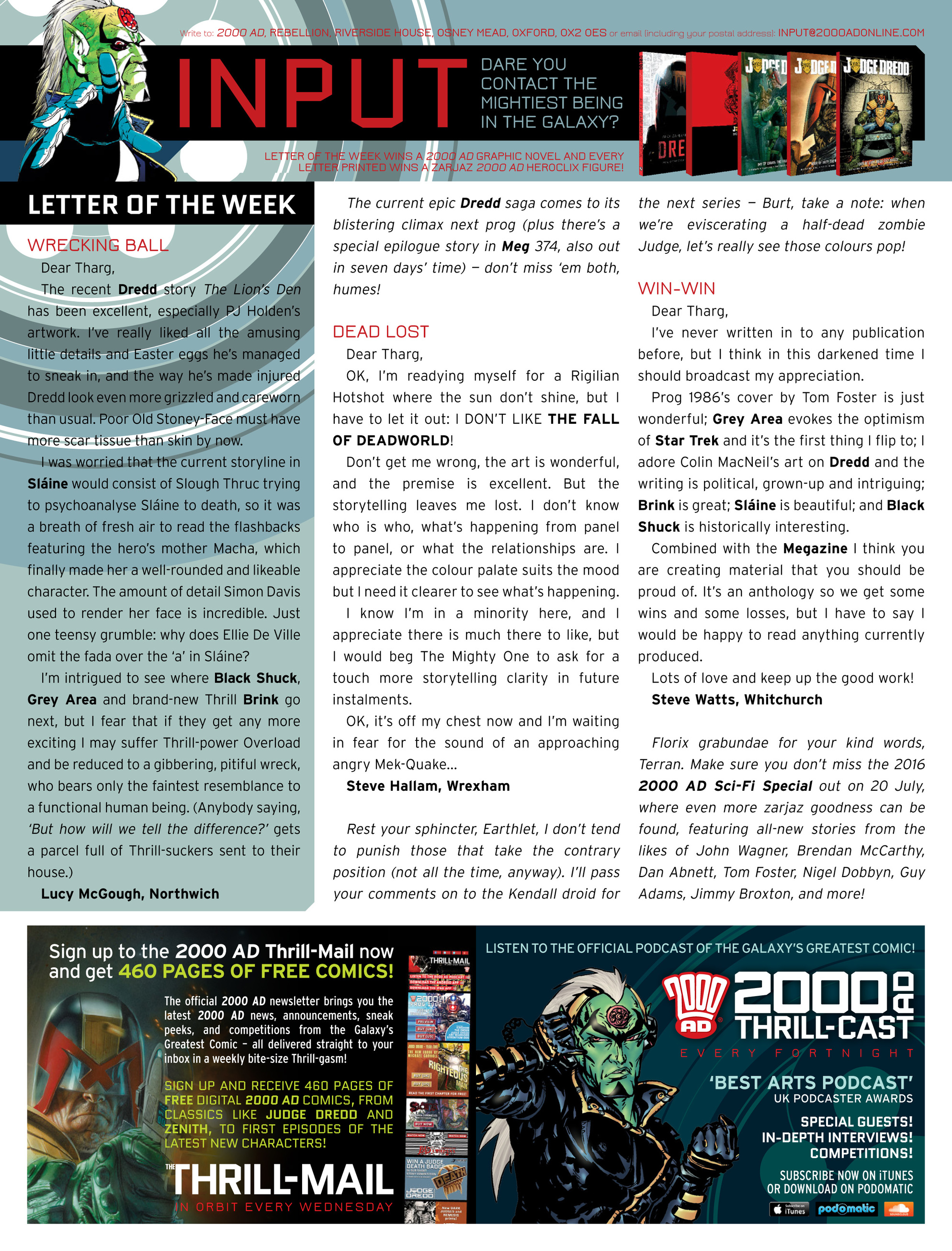 Read online 2000 AD comic -  Issue #1989 - 31