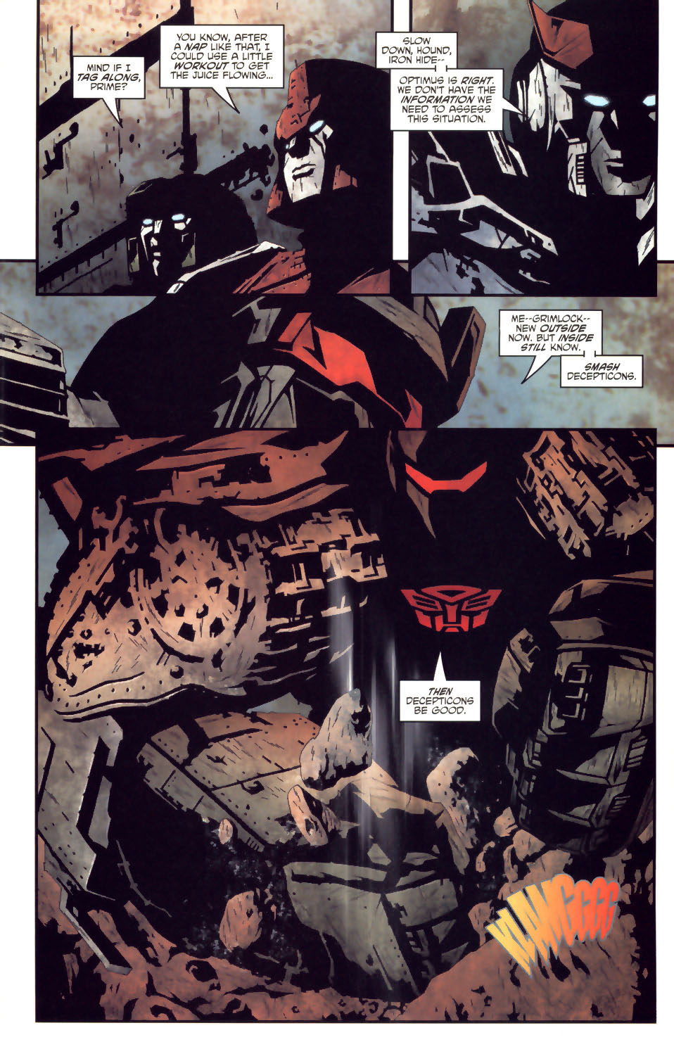 Read online Transformers/G.I. Joe comic -  Issue #2 - 16