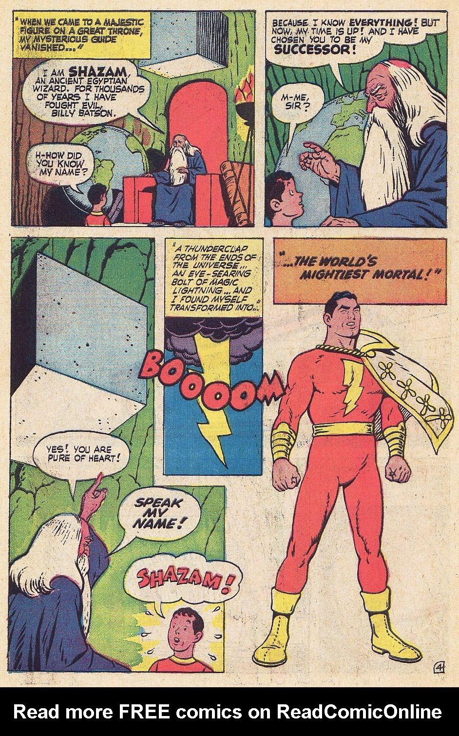 Read online Shazam! (1973) comic -  Issue #1 - 5