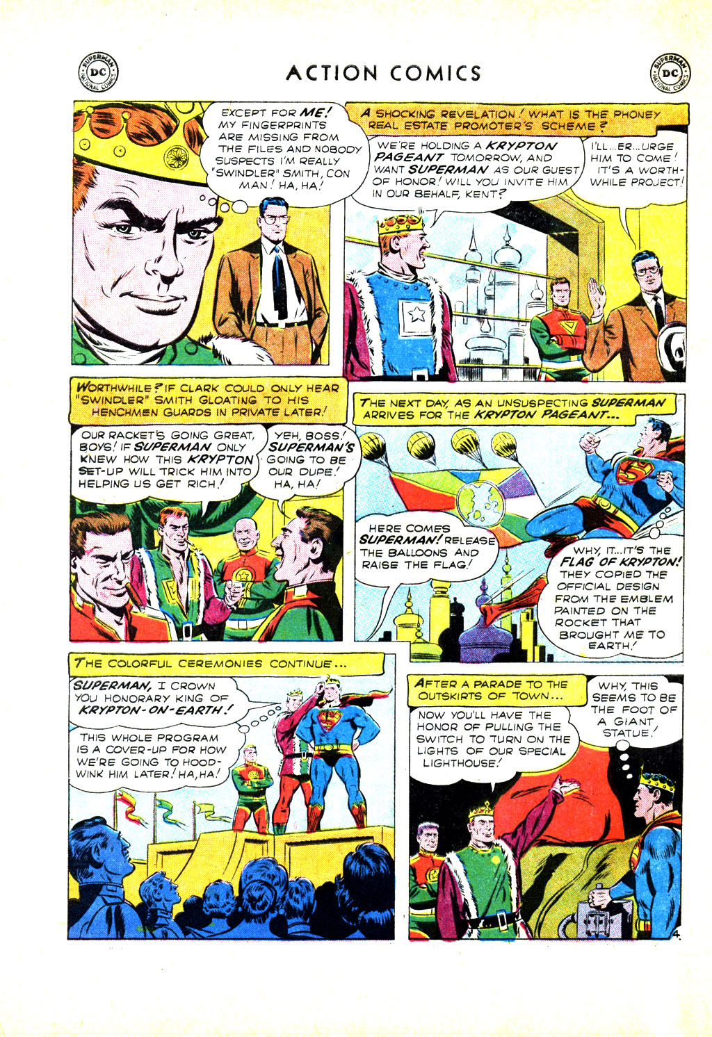 Read online Action Comics (1938) comic -  Issue #246 - 6