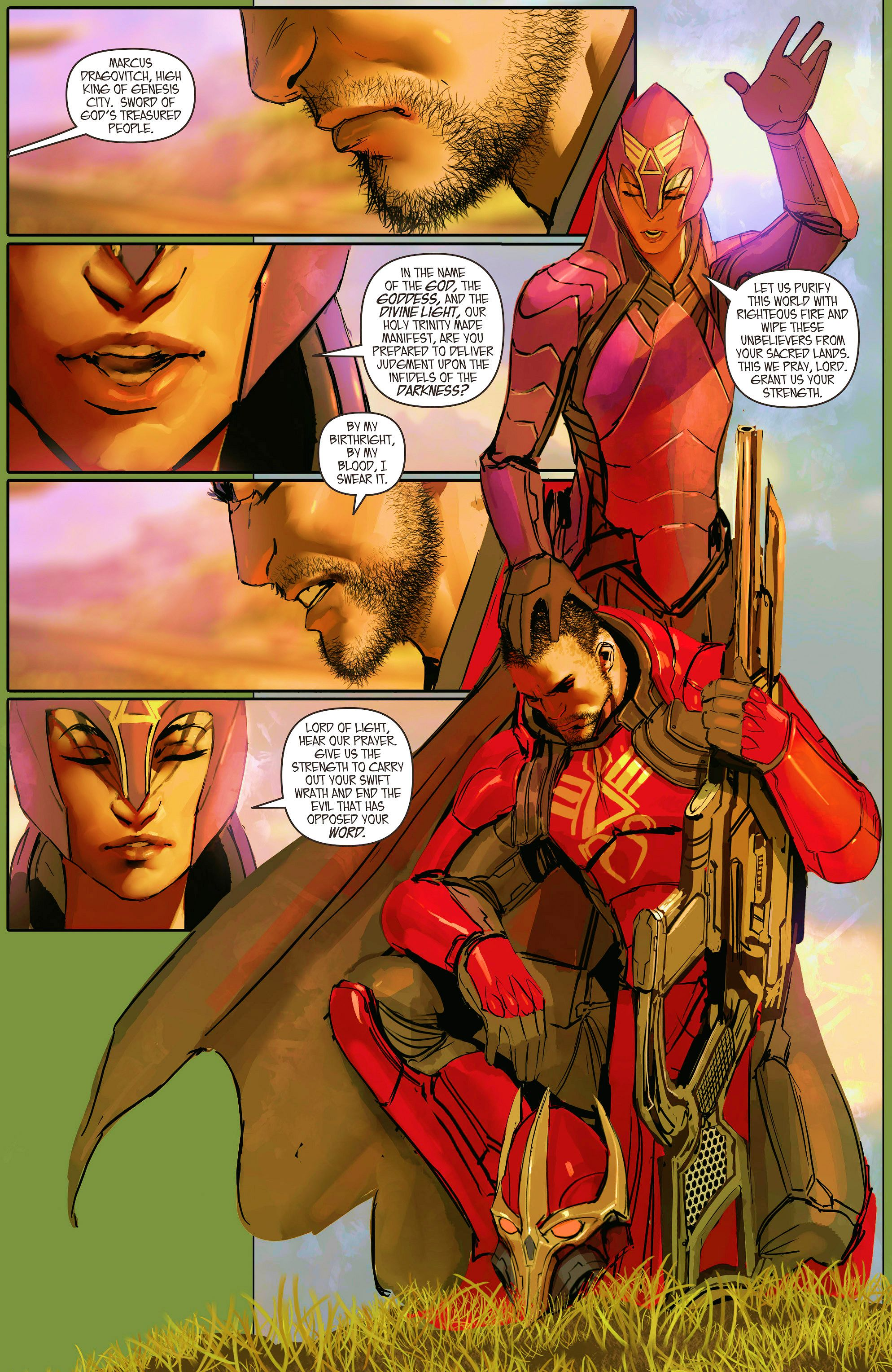 Read online Aphrodite IX (2013) comic -  Issue #9 - 7