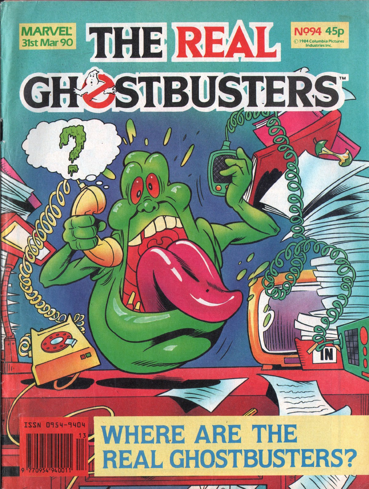 The Real Ghostbusters 94 Page 1