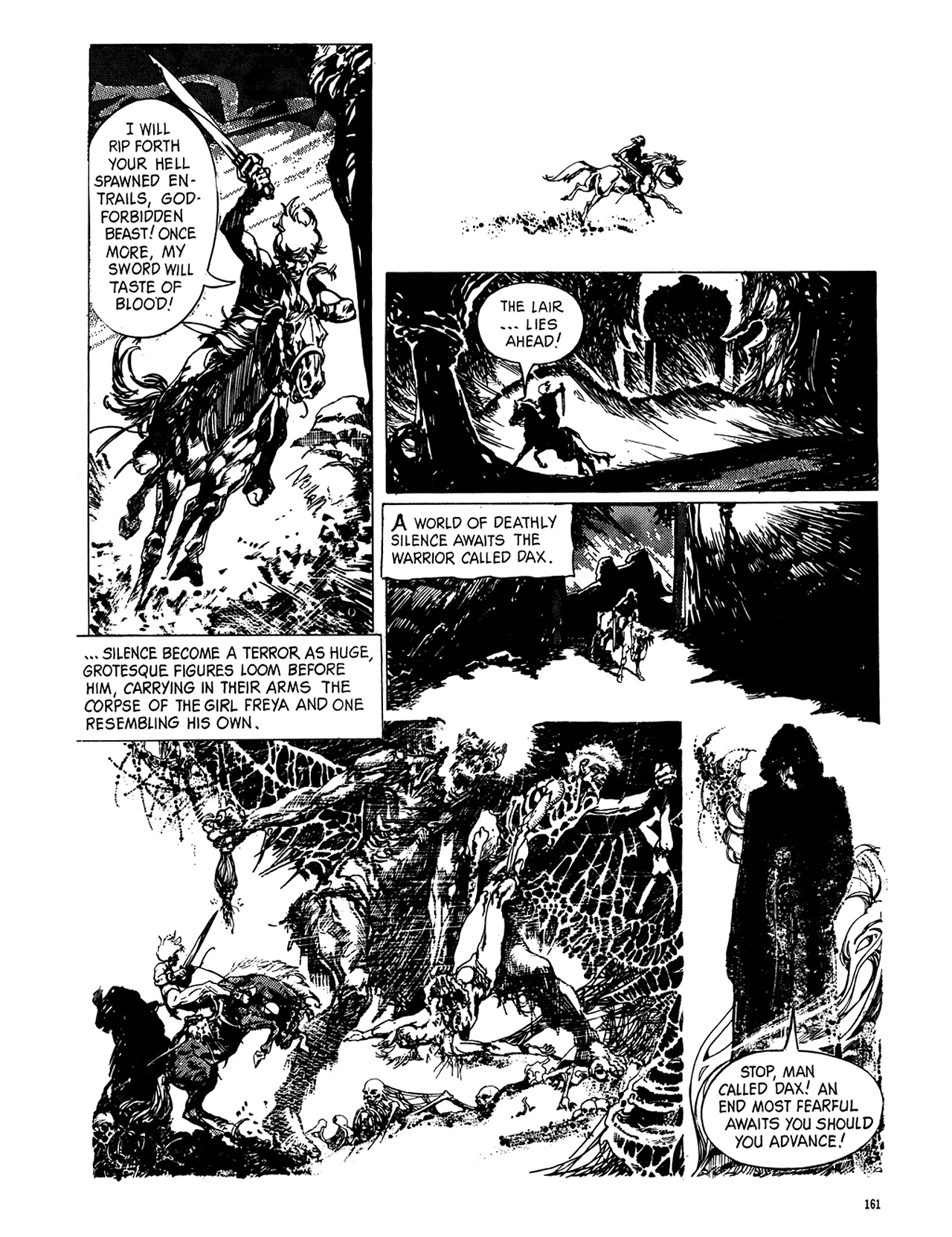 Read online Eerie Archives comic -  Issue # TPB 8 - 162