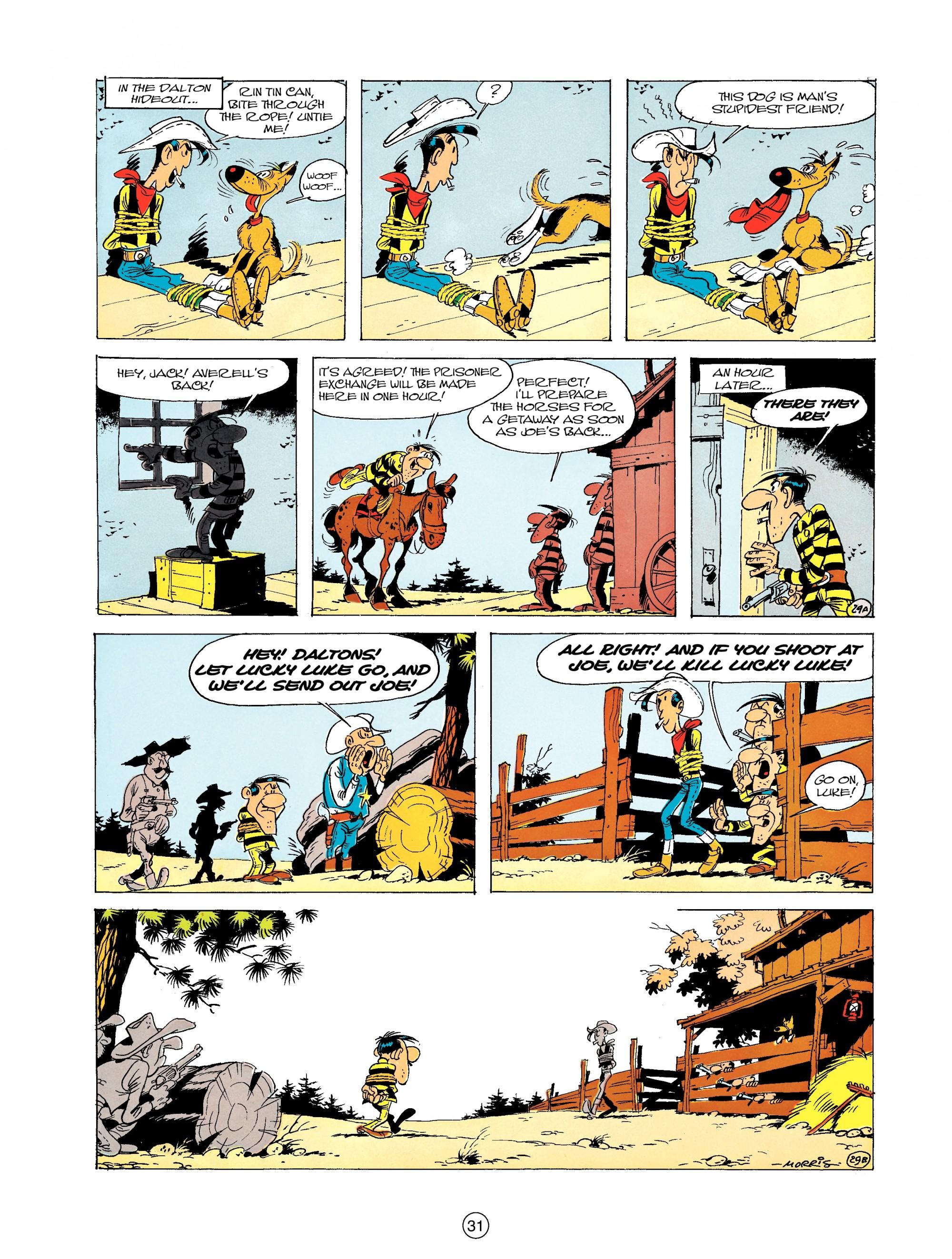 Read online A Lucky Luke Adventure comic -  Issue #19 - 31