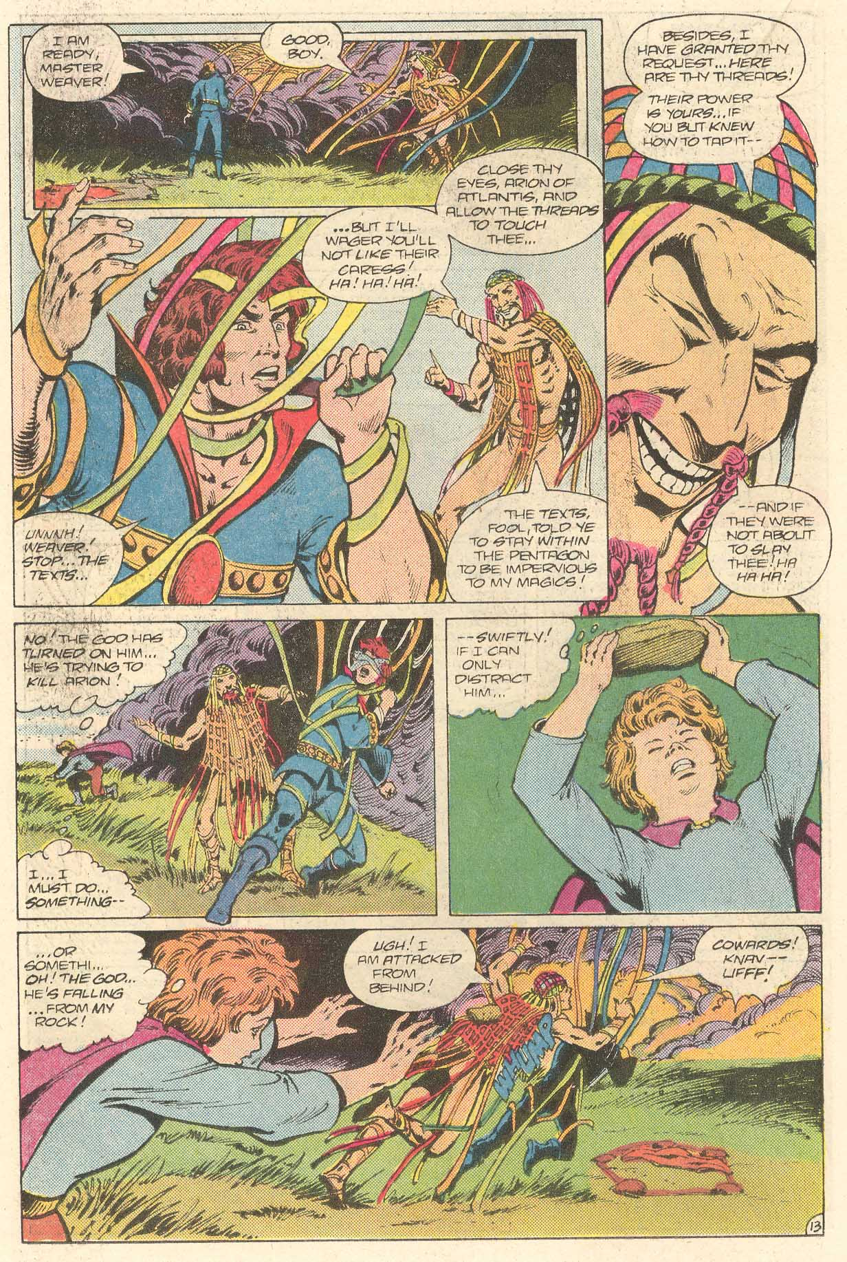 Read online Arion, Lord of Atlantis comic -  Issue #28 - 14