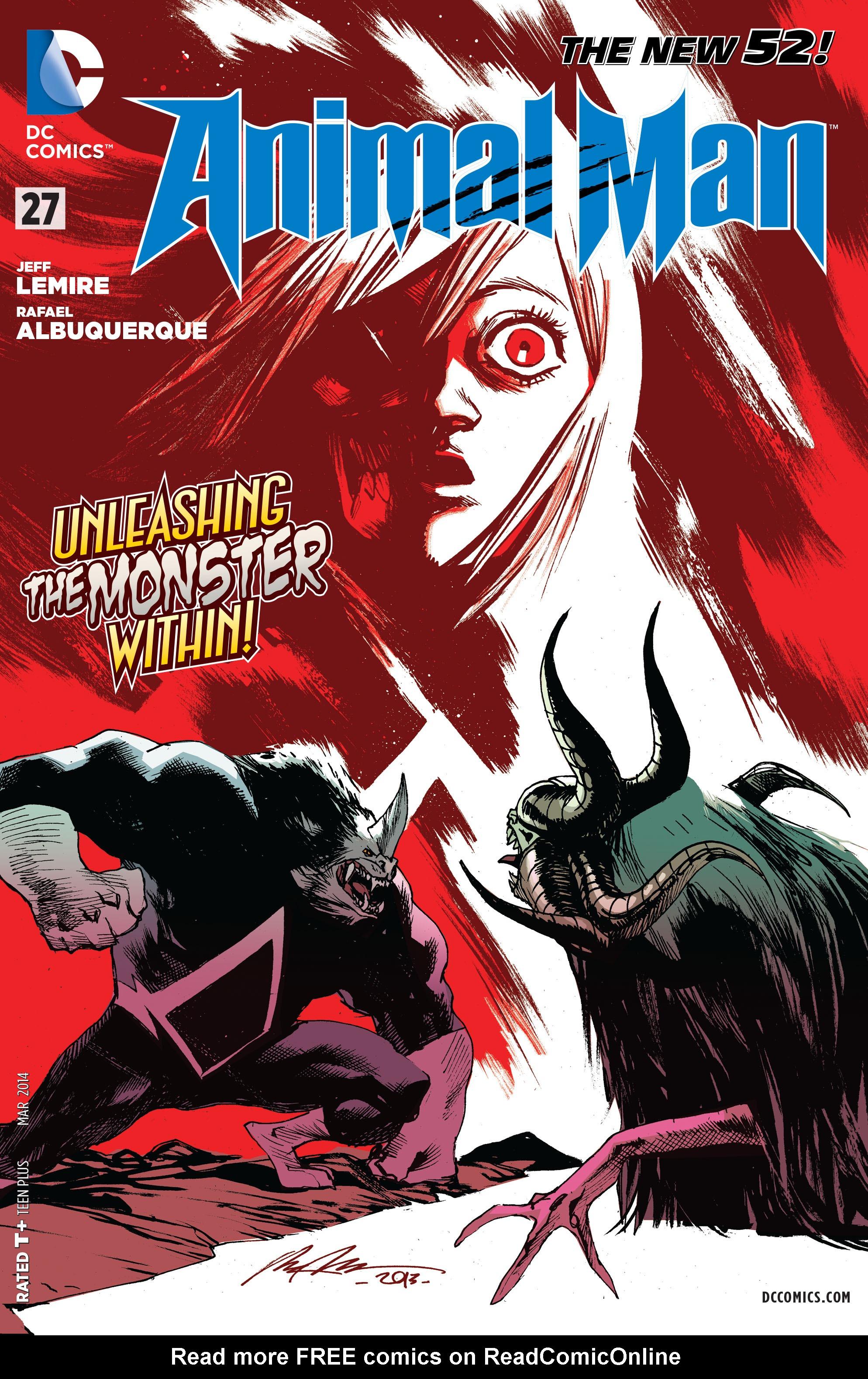 Read online Animal Man (2011) comic -  Issue #27 - 1