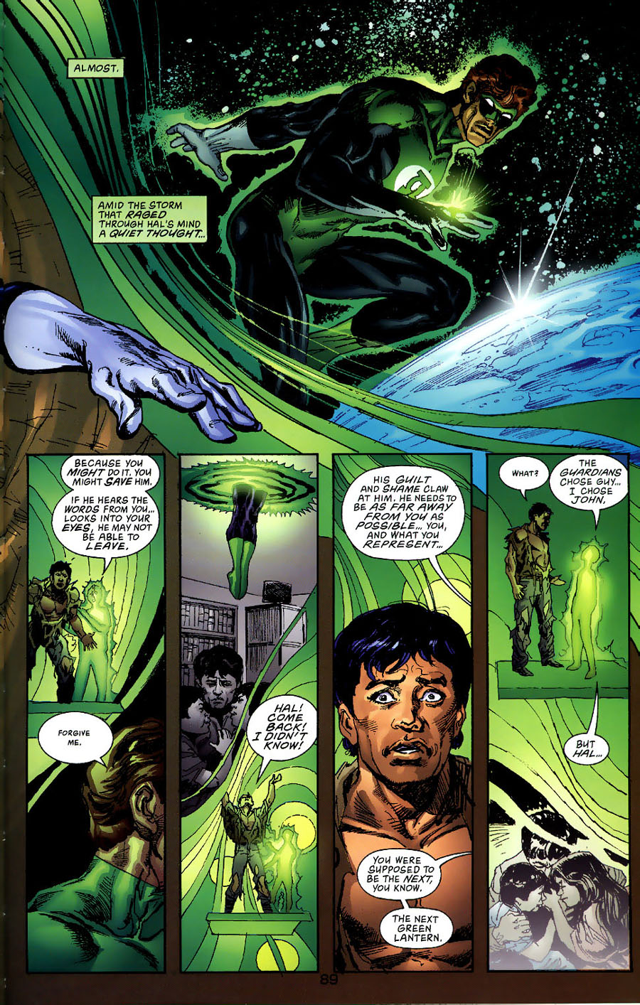 Read online Green Lantern: Legacy: The Last Will and Testament of Hal Jordan comic -  Issue # TPB - 96