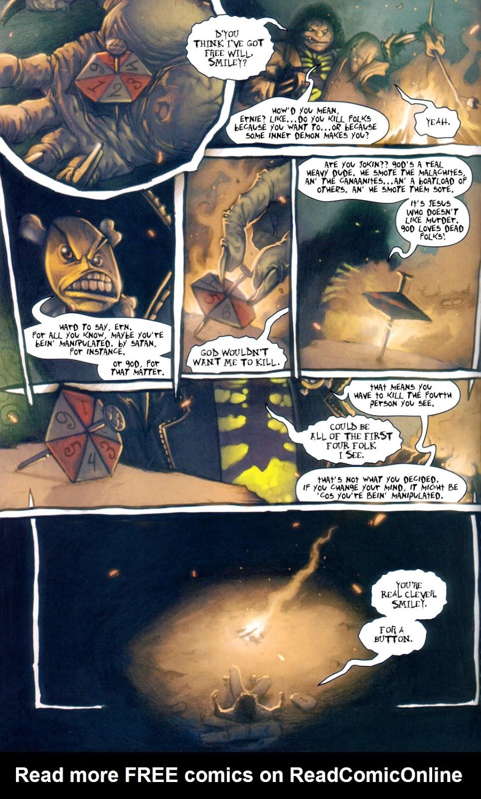 Read online Evil Ernie in Santa Fe comic -  Issue #1 - 7
