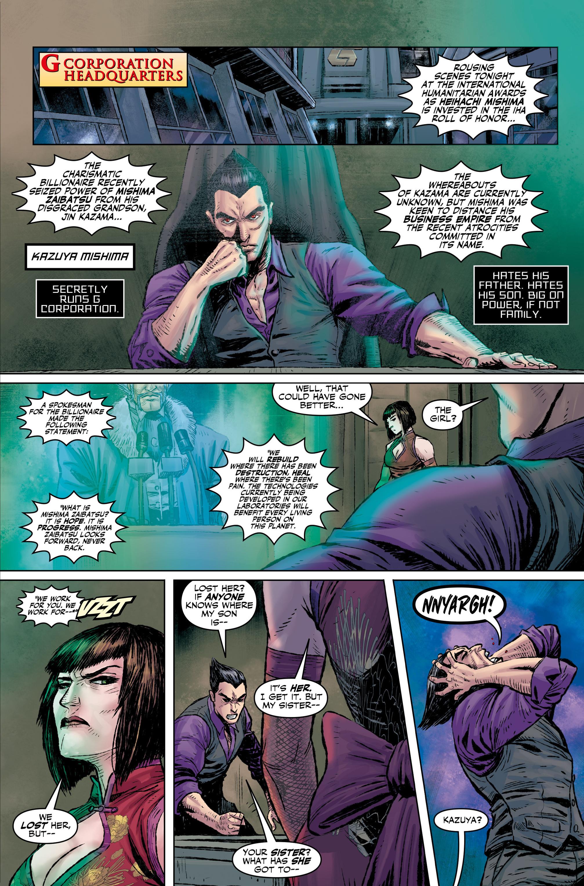 Read online Tekken comic -  Issue #1 - 20