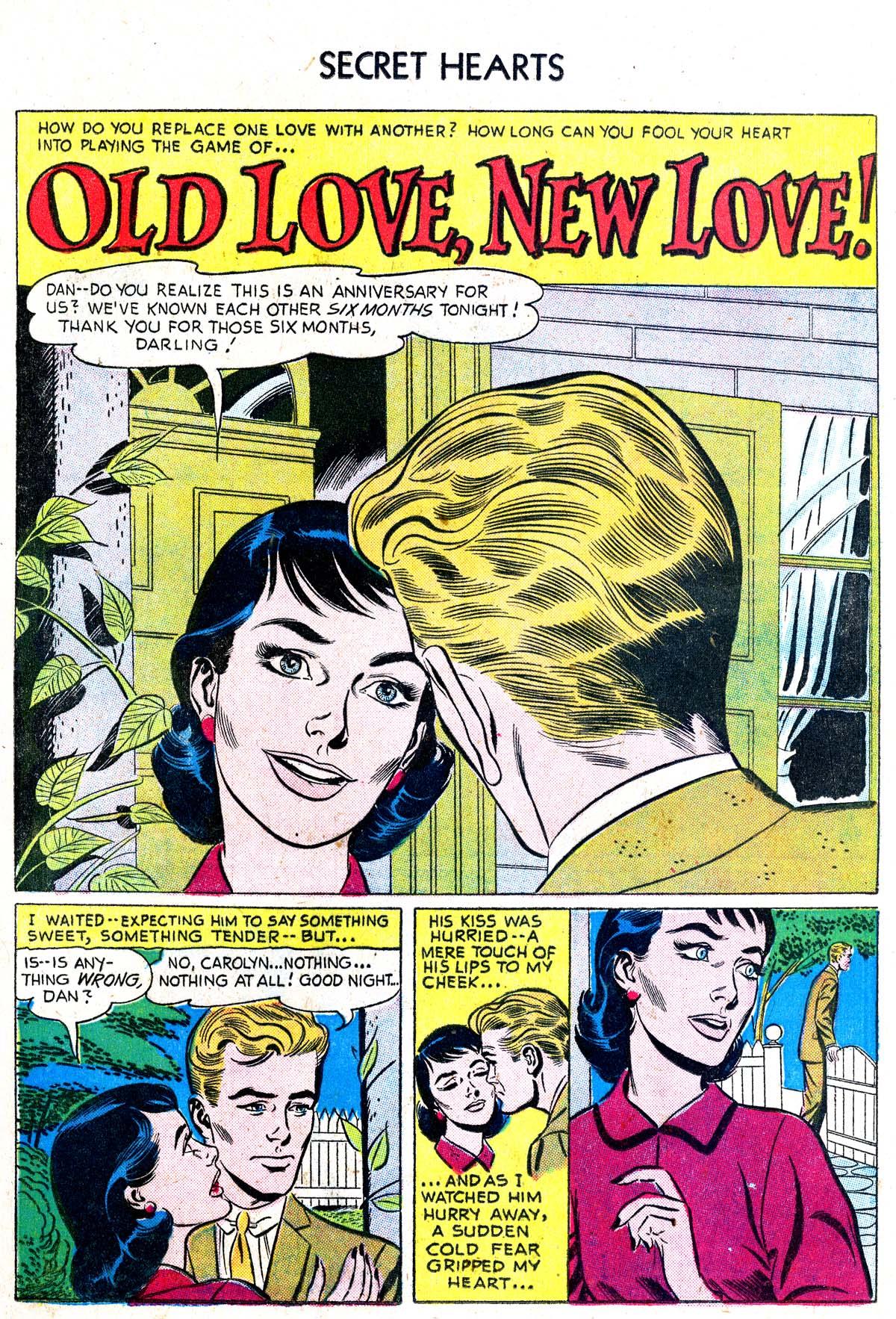 Read online Secret Hearts comic -  Issue #38 - 17
