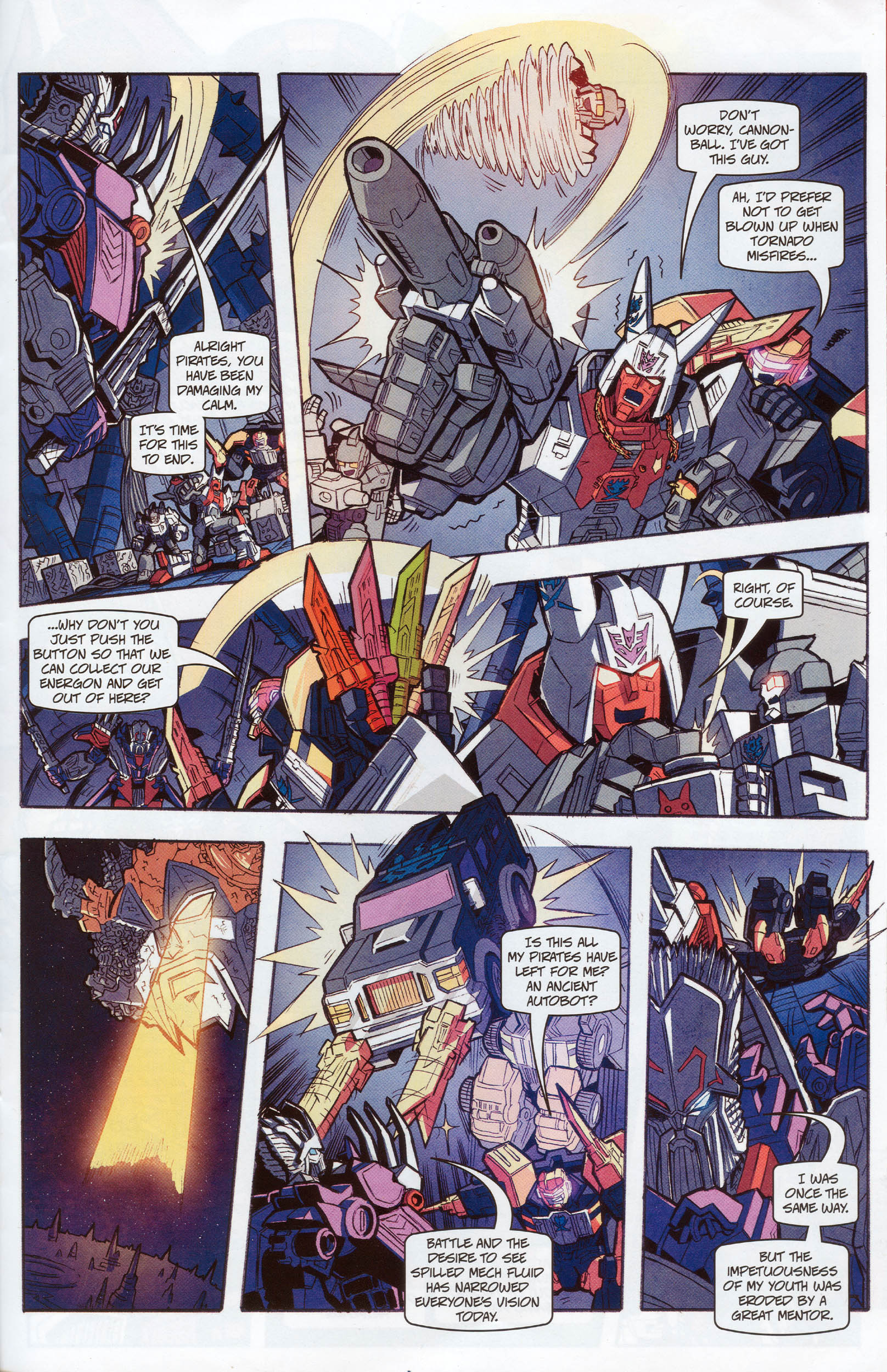Read online Transformers: Timelines comic -  Issue #10 - 21