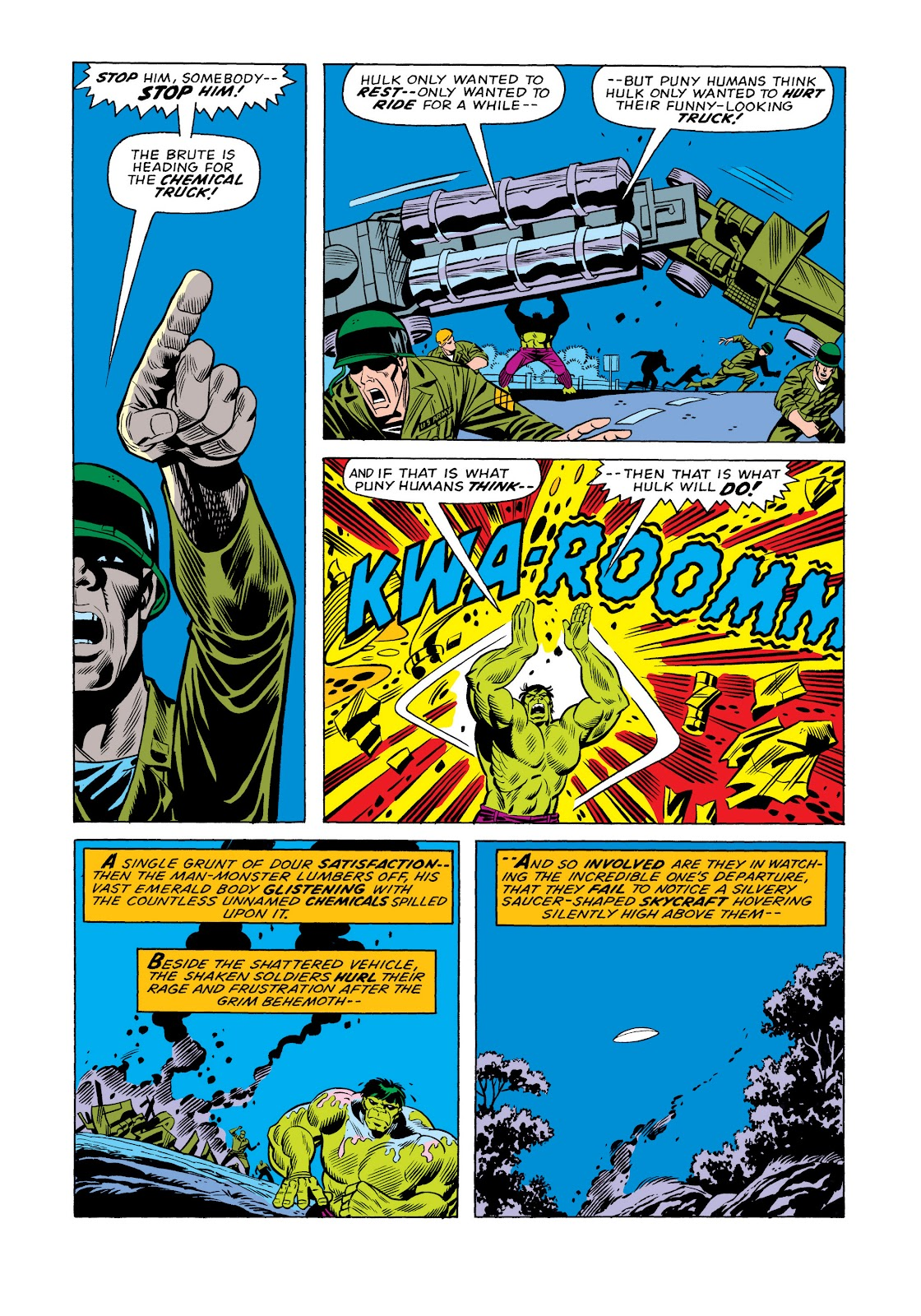 Read online Marvel Masterworks: The Incredible Hulk comic -  Issue # TPB 11 (Part 1) - 11