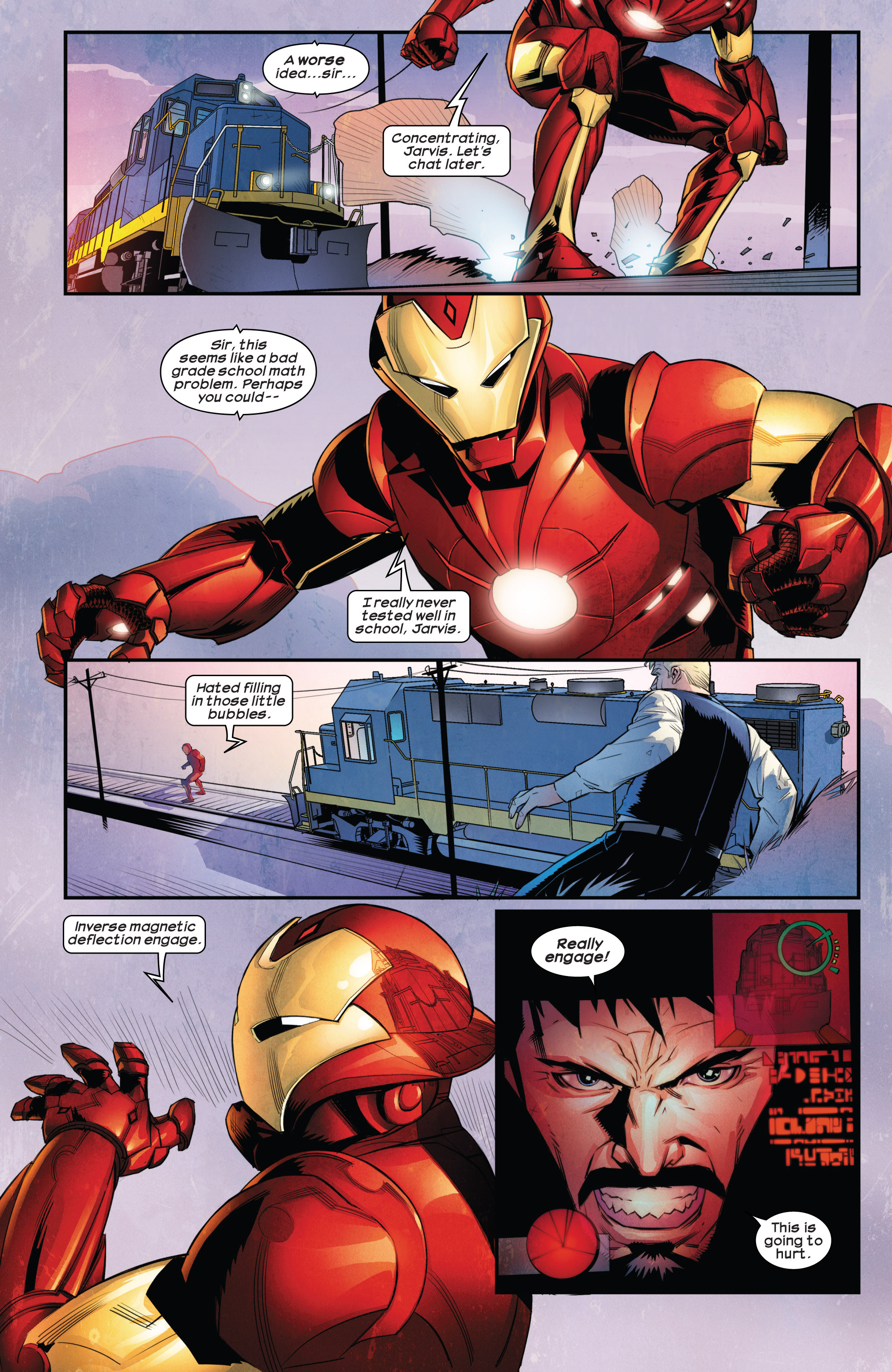 Read online Ultimate Comics Iron Man comic -  Issue #1 - 5