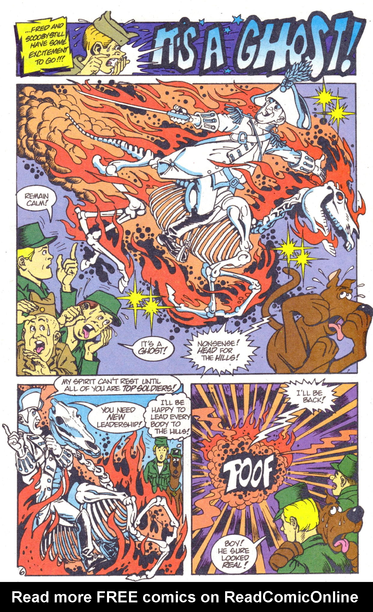 Read online Scooby-Doo (1995) comic -  Issue #2 - 7