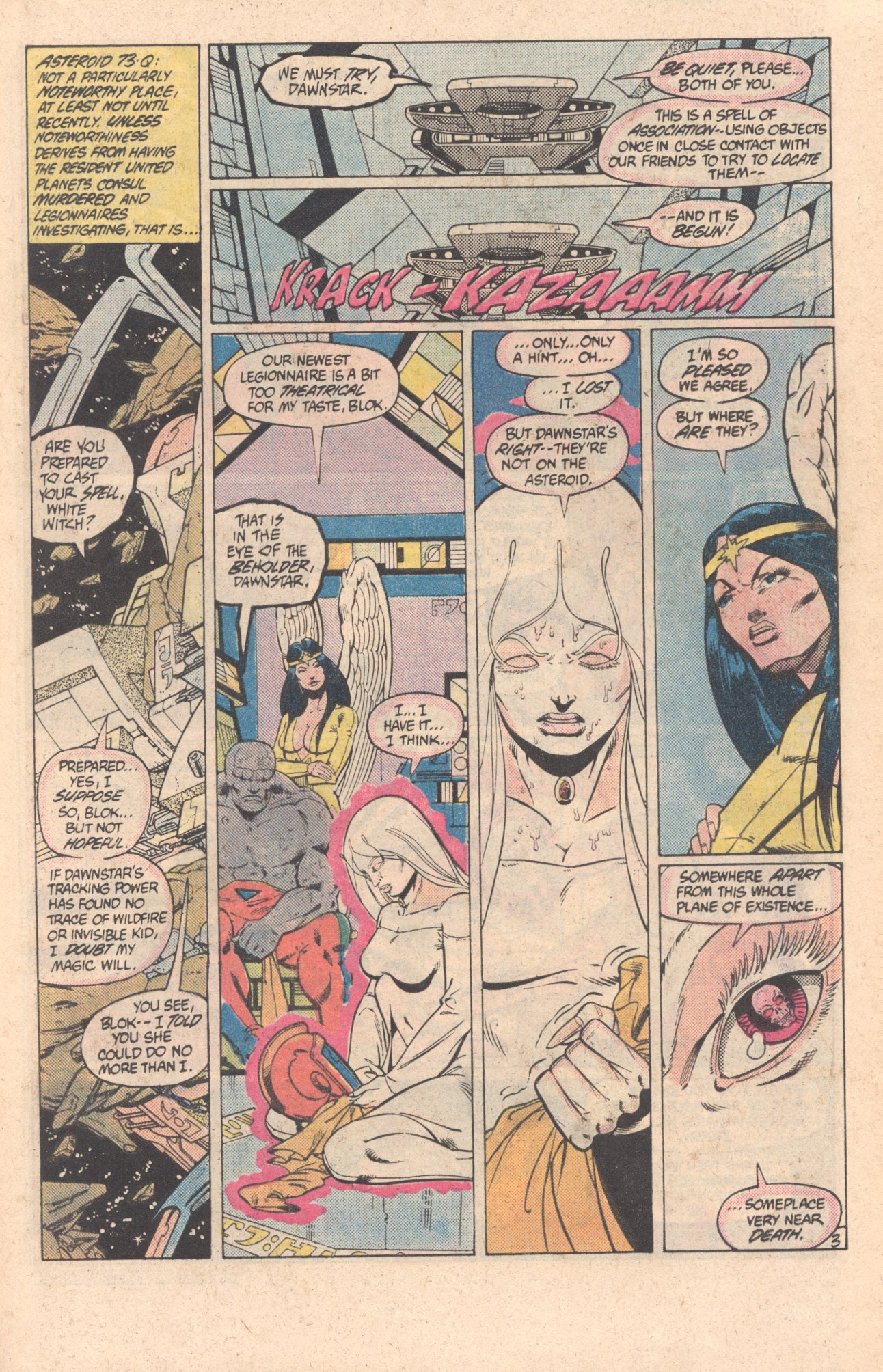 Legion of Super-Heroes (1980) 299 Page 3