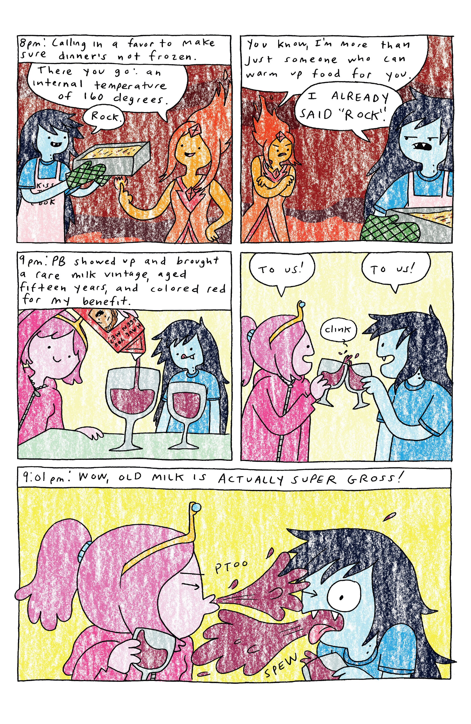 Read online Adventure Time comic -  Issue #30 - 9
