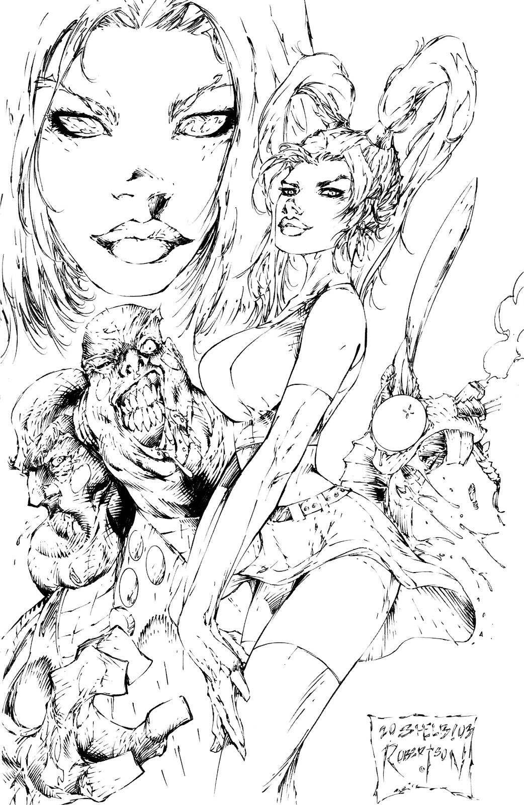 Read online Latex Alice - Blonde Ambition comic -  Issue # Full - 14