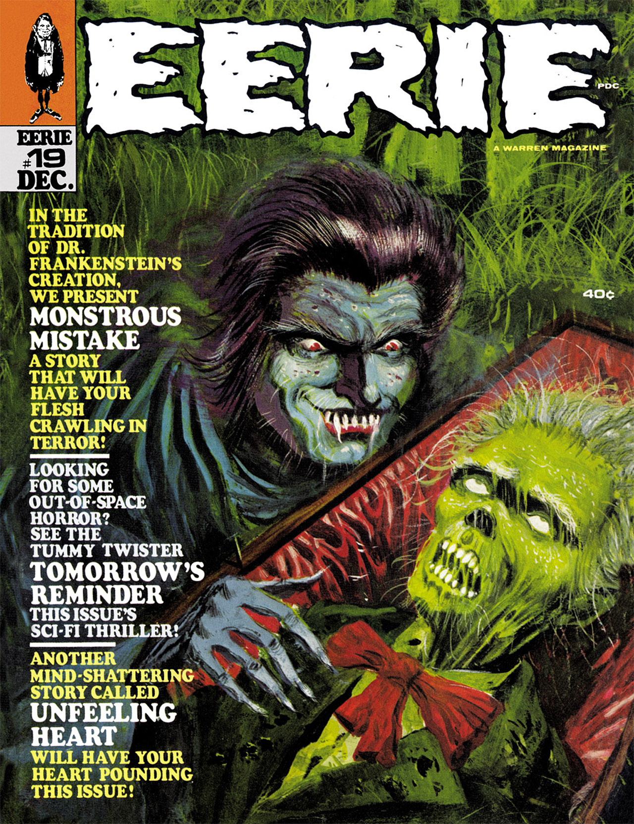 Read online Eerie Archives comic -  Issue # TPB 4 - 106