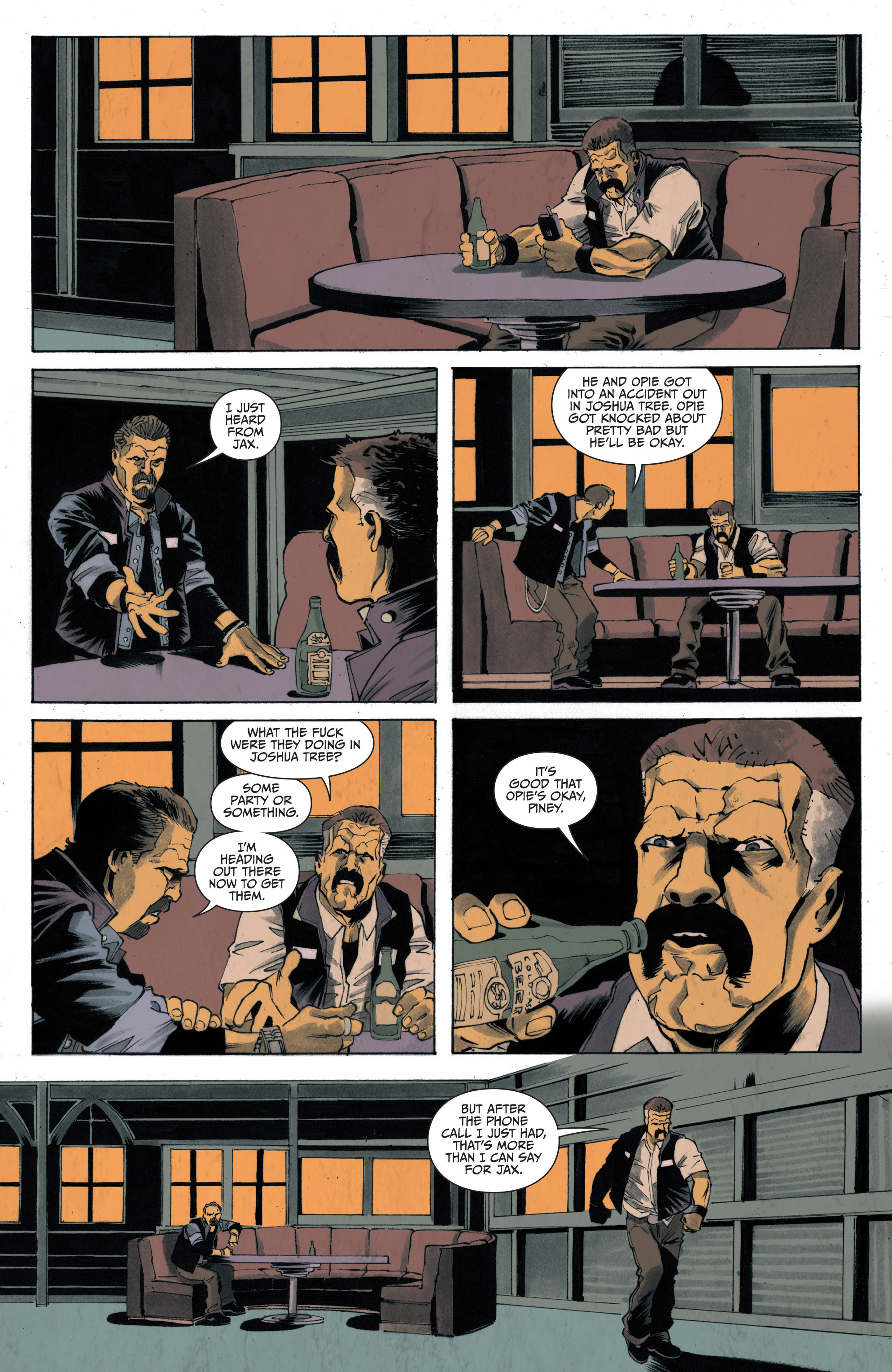 Read online Sons of Anarchy: Redwood Original comic -  Issue #4 - 19