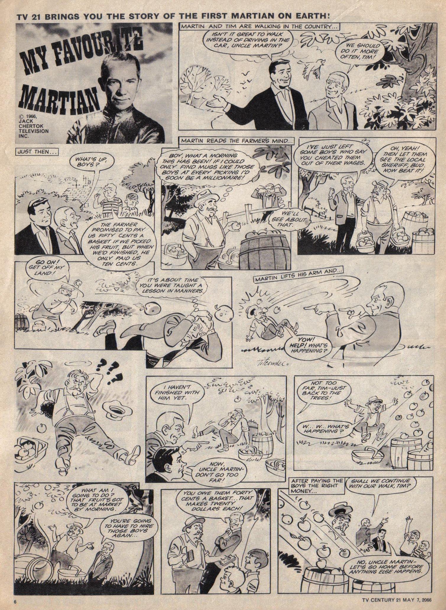 Read online TV Century 21 (TV 21) comic -  Issue #68 - 6