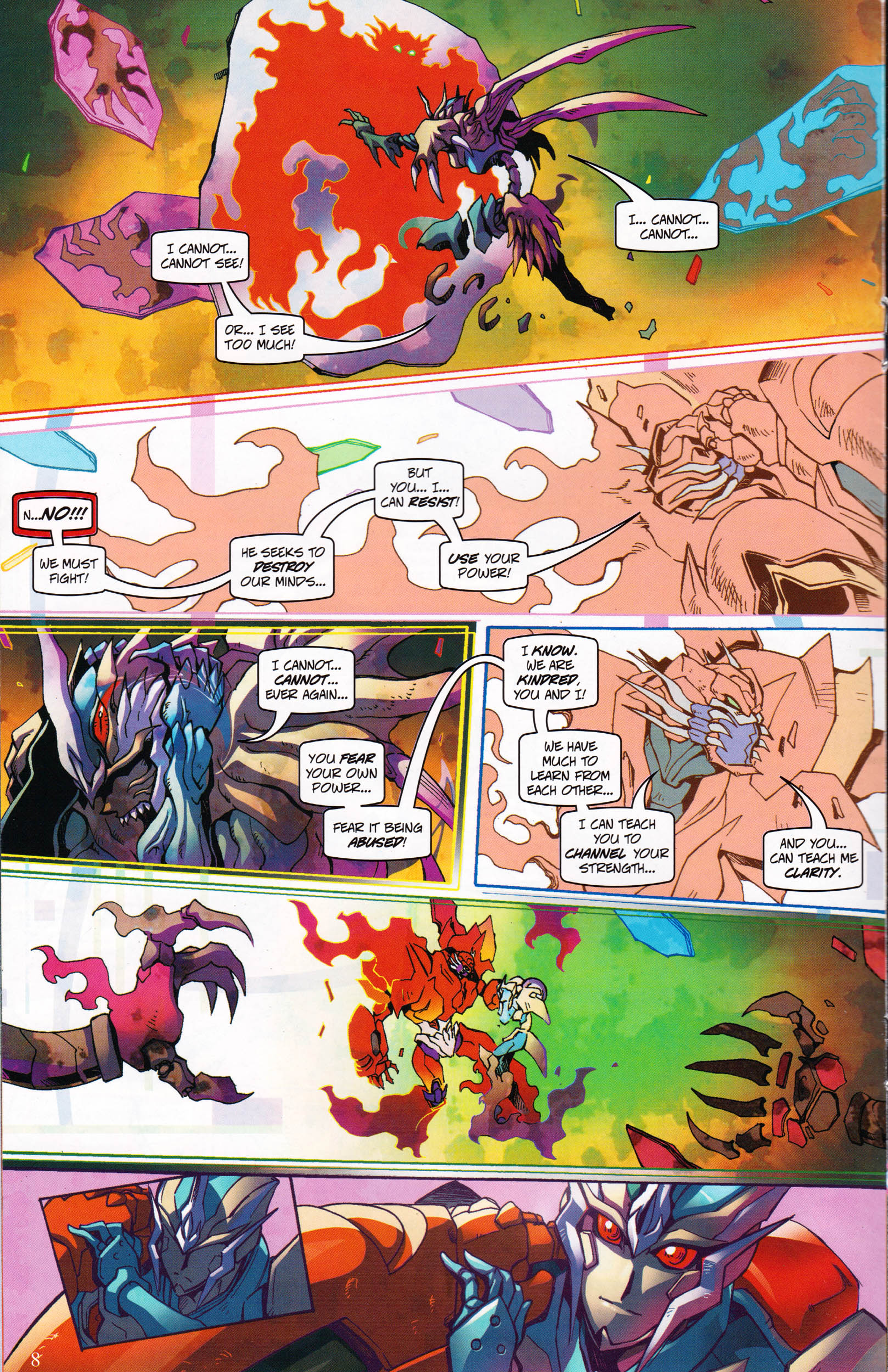 Read online Transformers: Collectors' Club comic -  Issue #60 - 8