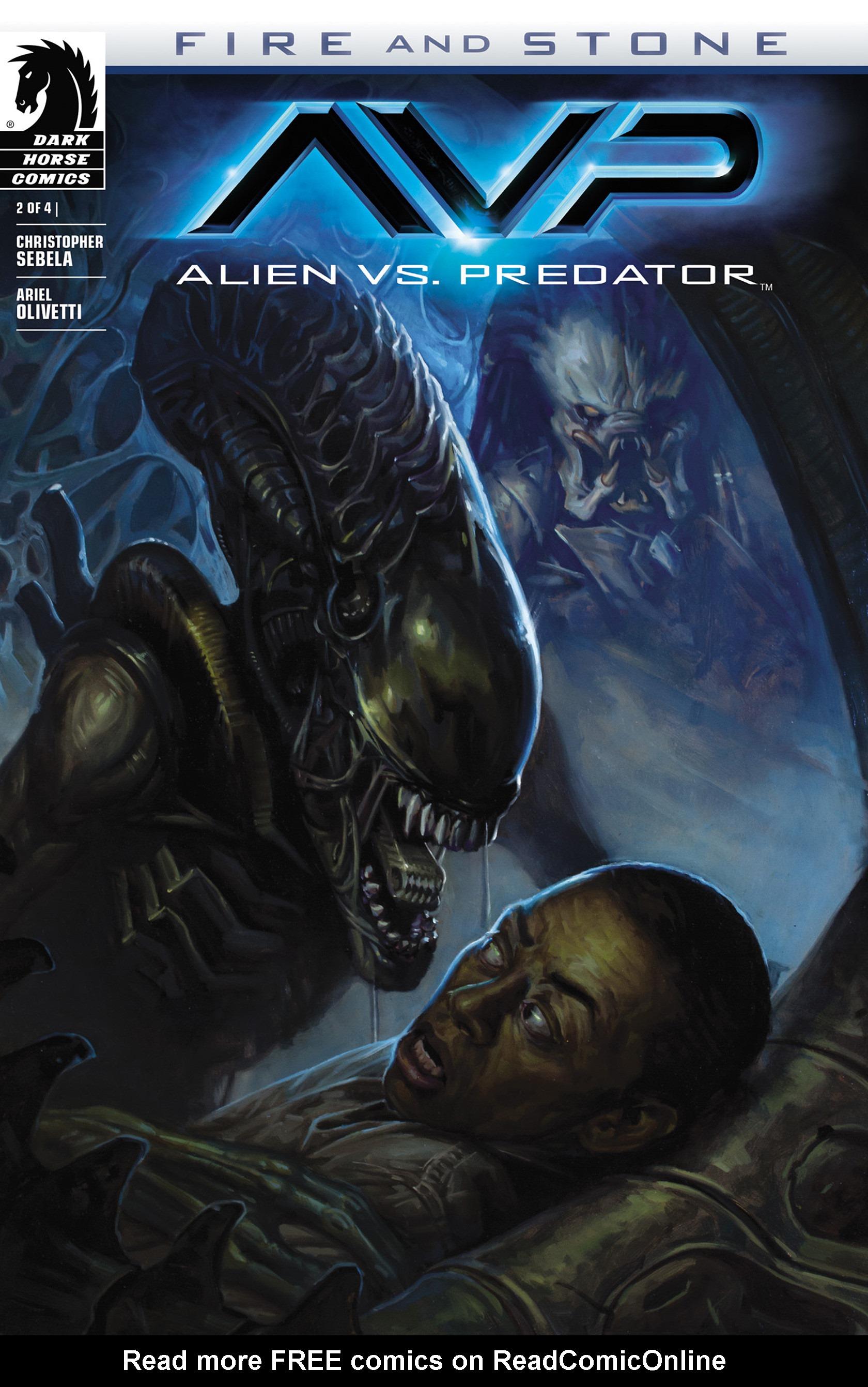 Read online Alien vs. Predator: Fire and Stone comic -  Issue #2 - 1